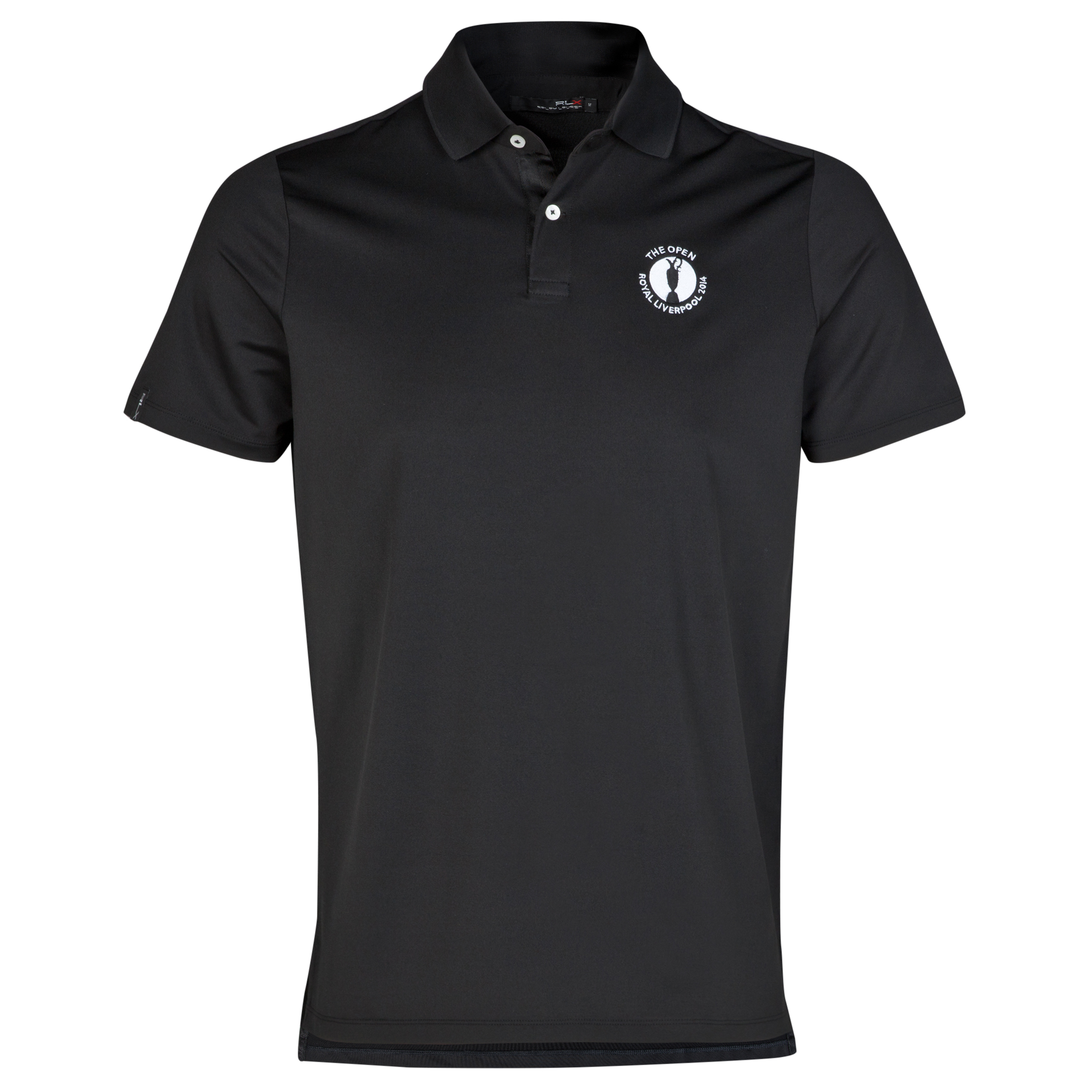 The Open Championship Royal Liverpool 2014 RLX Solid Polo Black