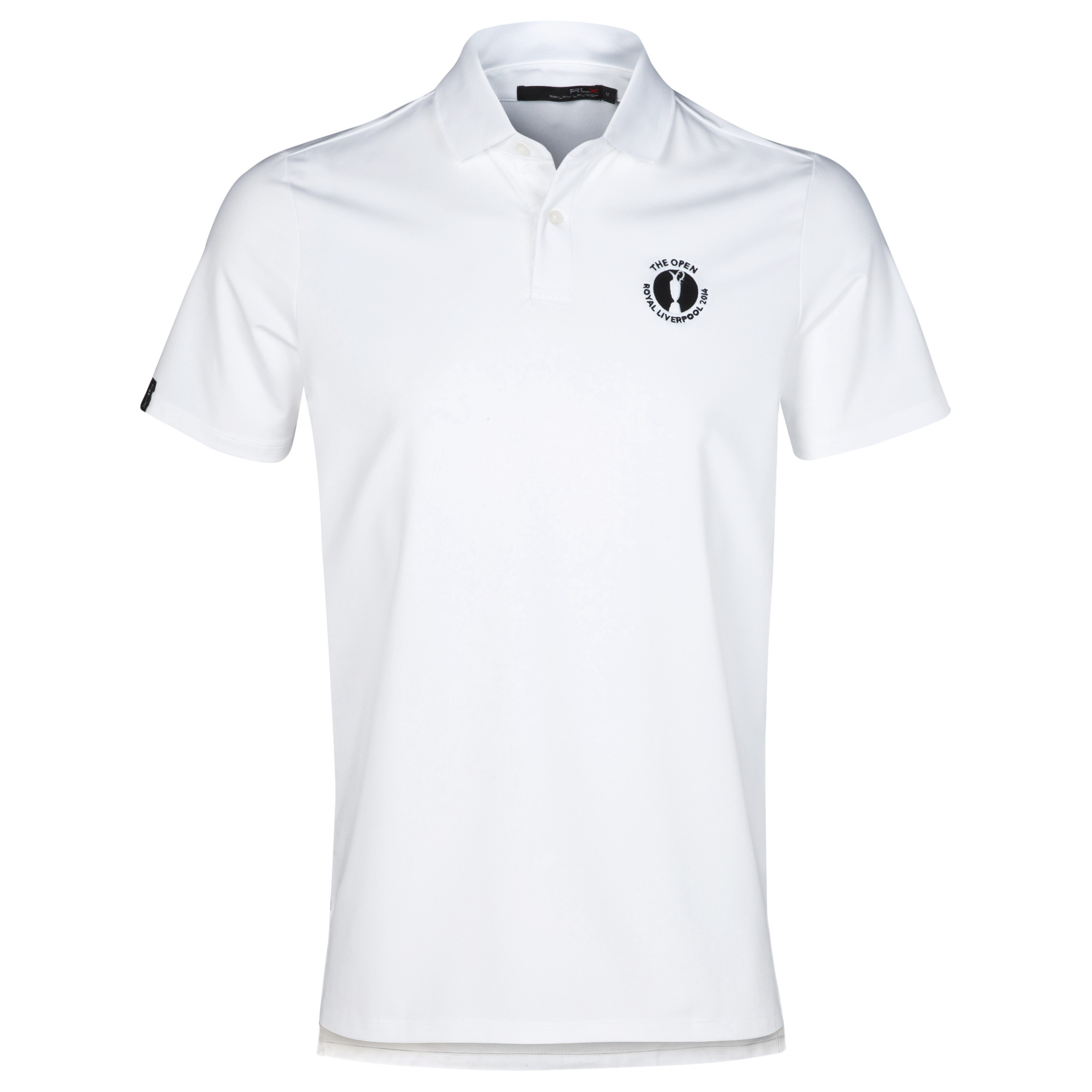 The Open Championship Royal Liverpool 2014 RLX Solid Polo White