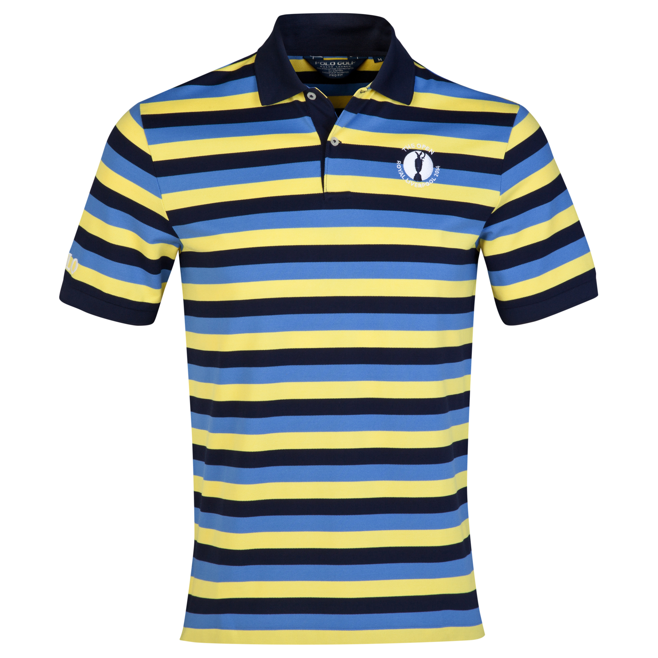 The Open Championship Royal Liverpool 2014 Ralph Lauren Stripe Polo