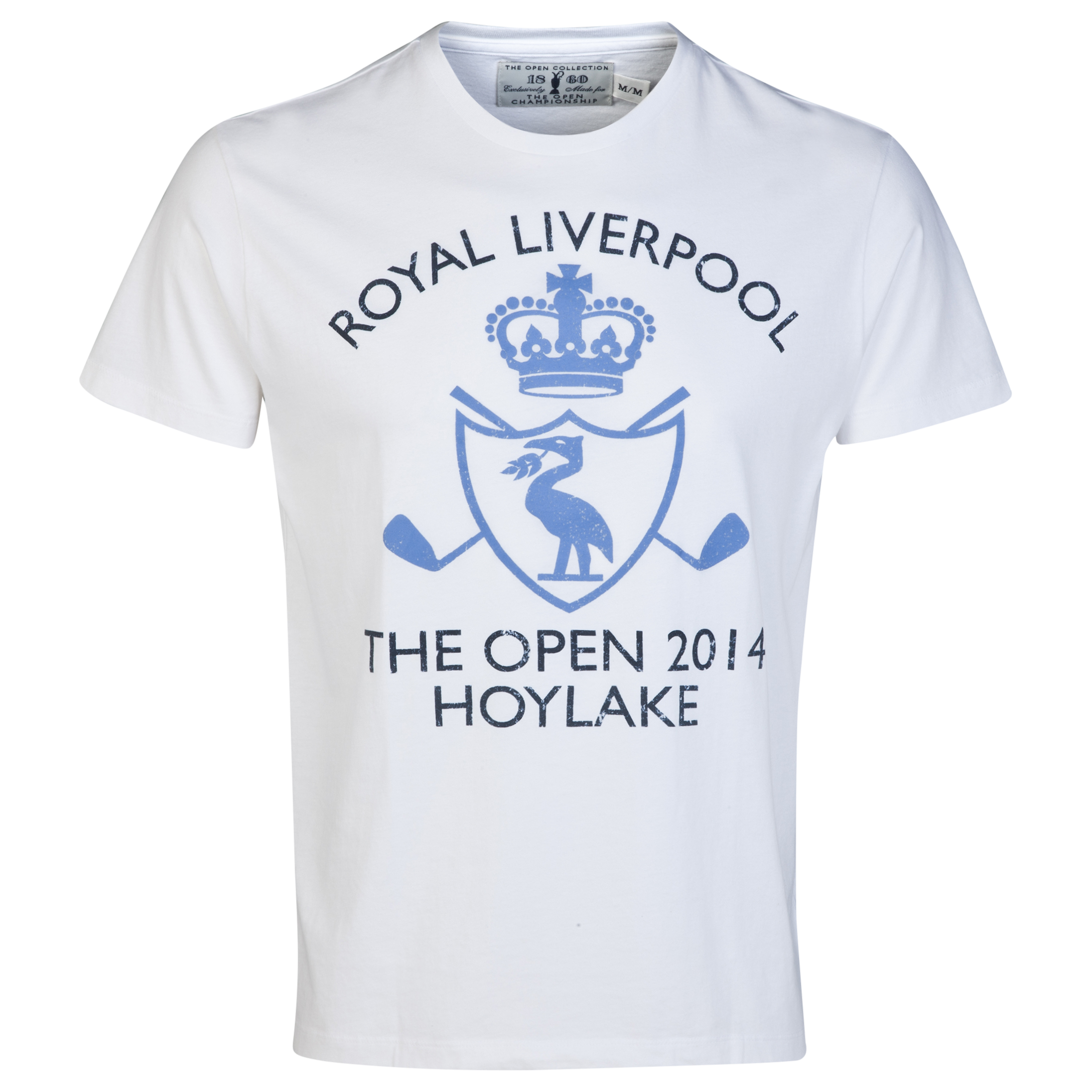 The Open Championship Collection Royal Liverpool 2014 T-Shirt White