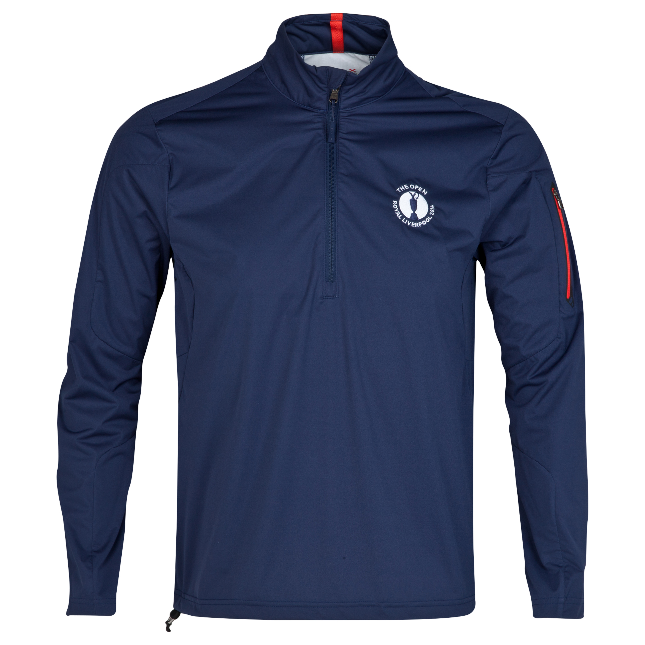 The Open Championship Royal Liverpool 2014 RLX 1/2 Zip Technical Layering Piece Navy