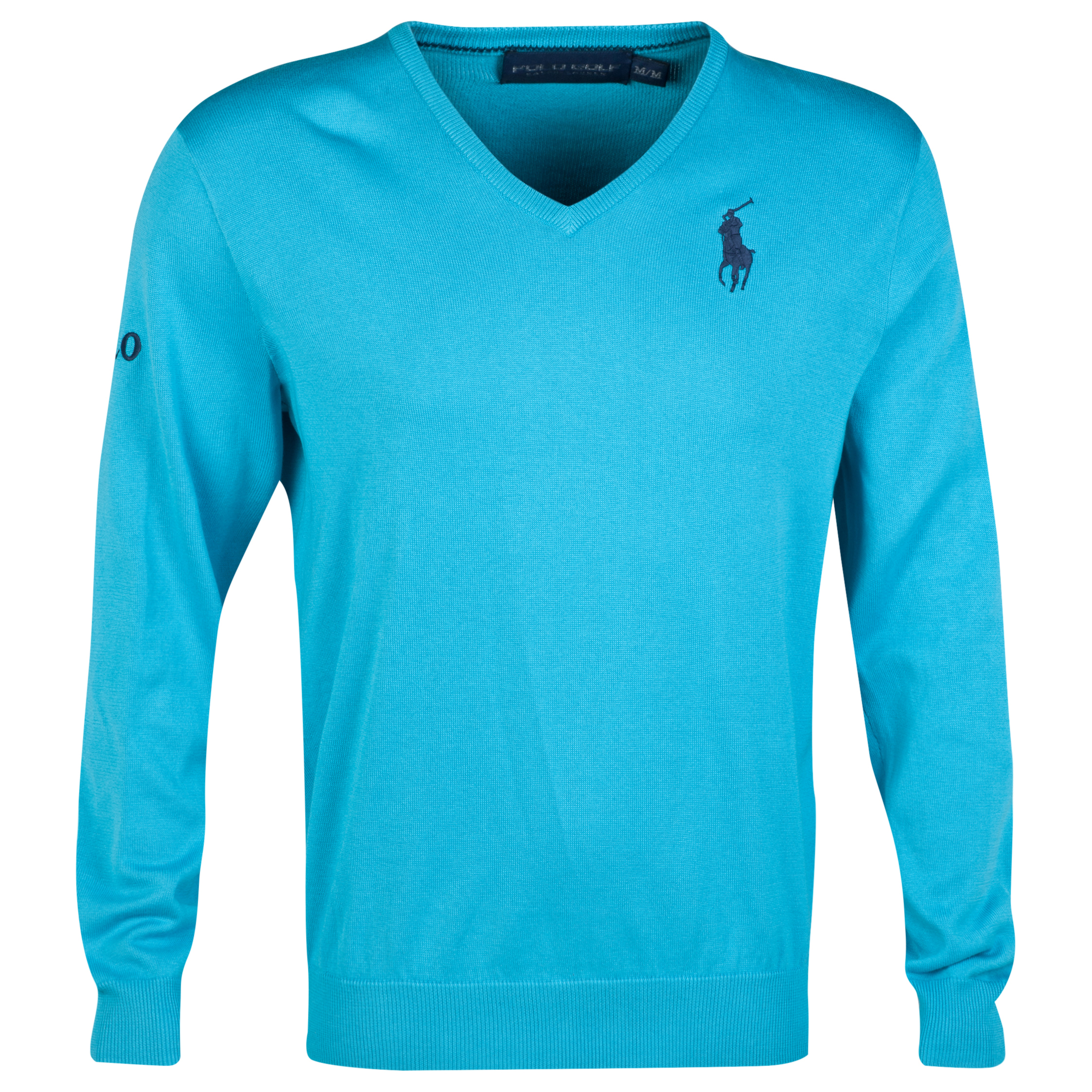 The Open Championship Royal Liverpool 2014 Big Pony Long Sleeve Sweater Blue