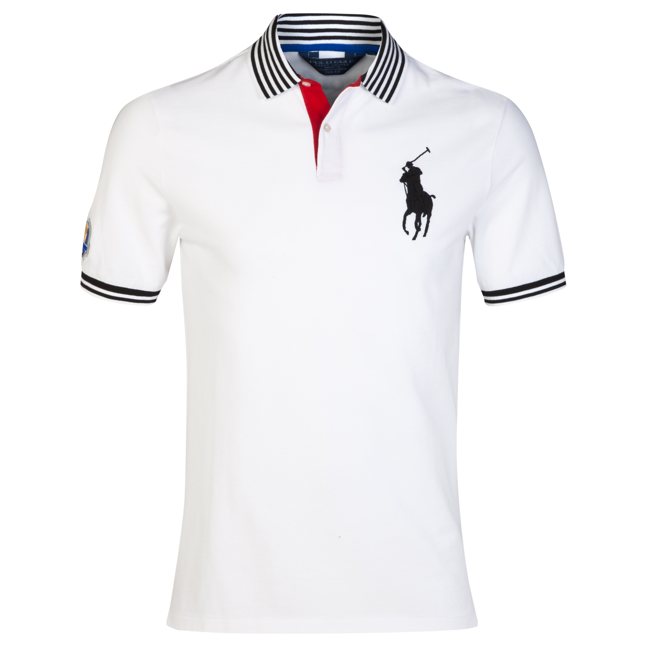 The 2014 Ryder Cup Ralph Lauren Big Pony Contrast Collar Polo White