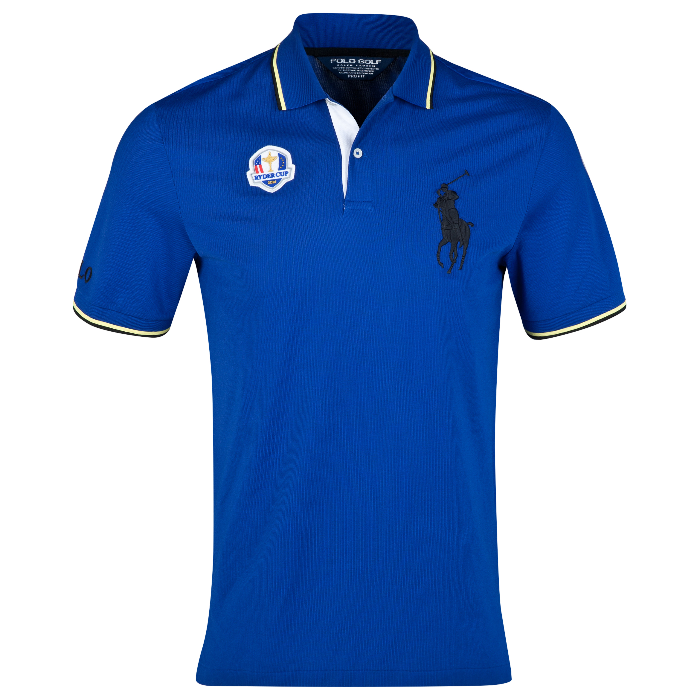 The 2014 Ryder Cup Ralph Lauren Big Pony Polo Royal Blue