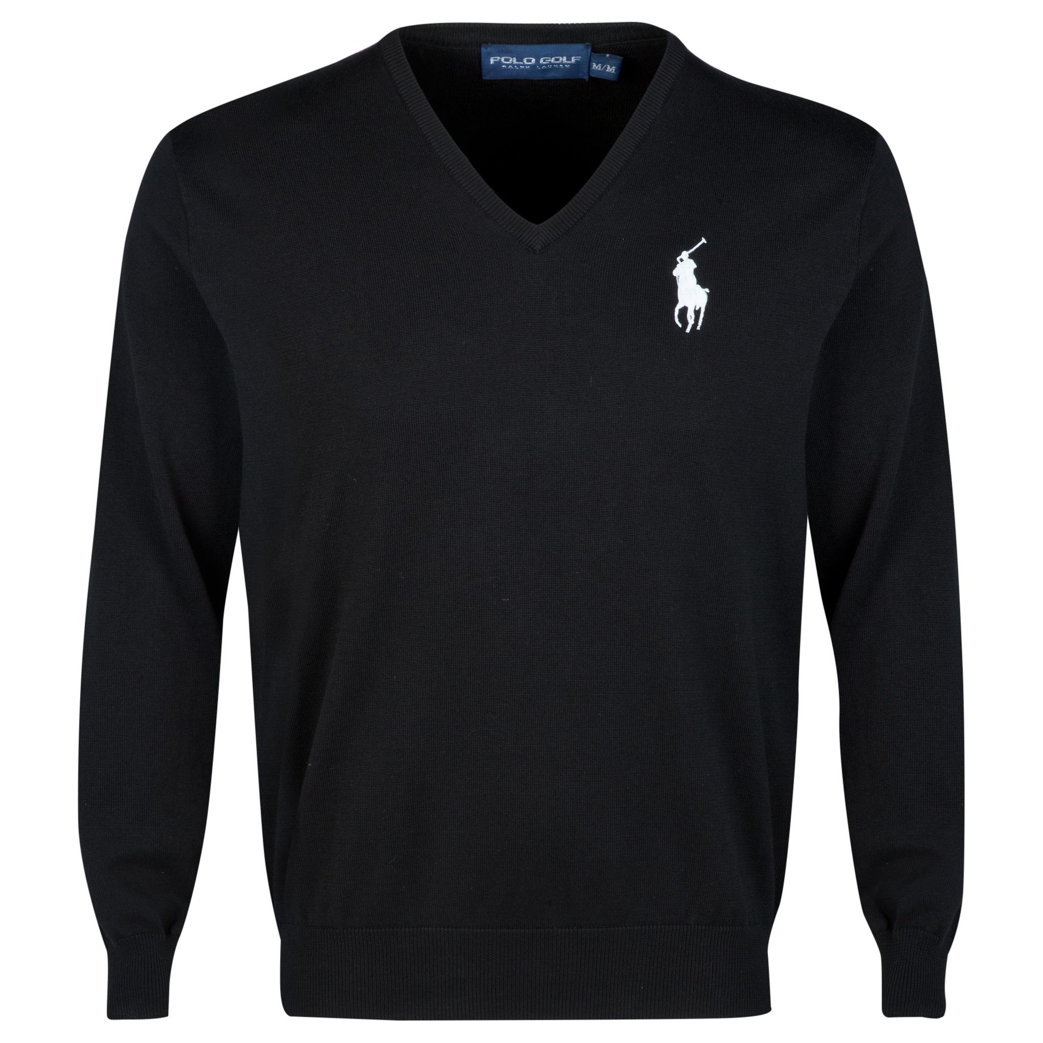 The 2014 Ryder Cup Ralph Lauren Big Pony V-Neck Sweater Black