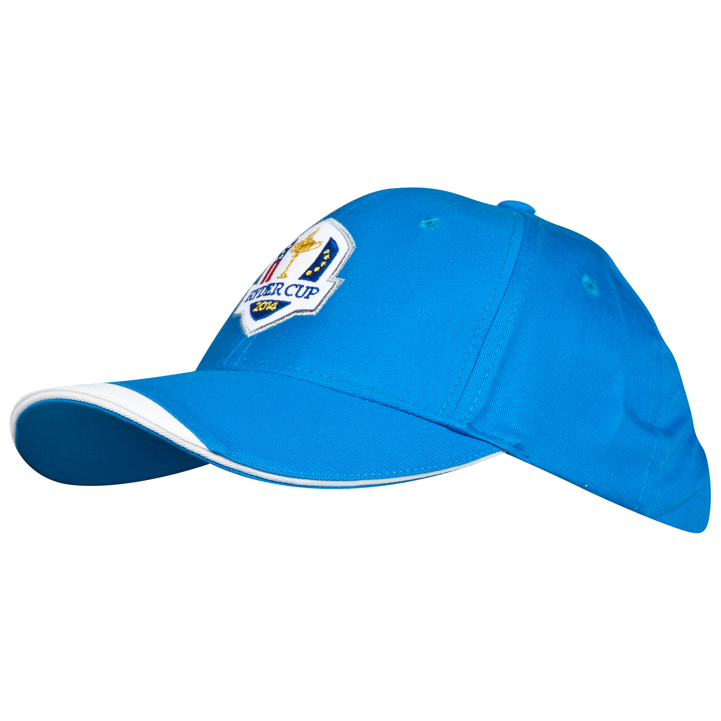 The 2014 Ryder Cup Glenmuir Fanwear Ardle Cap - Saltire/White/Gold