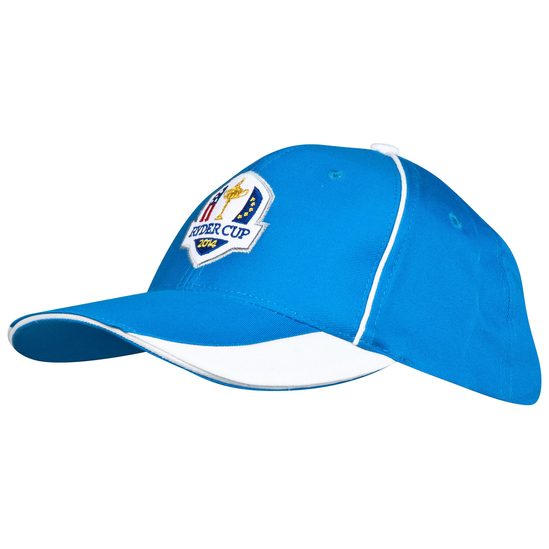 The 2014 Ryder Cup Glenmuir Fanwear Vorlich Cap - Saltire/White