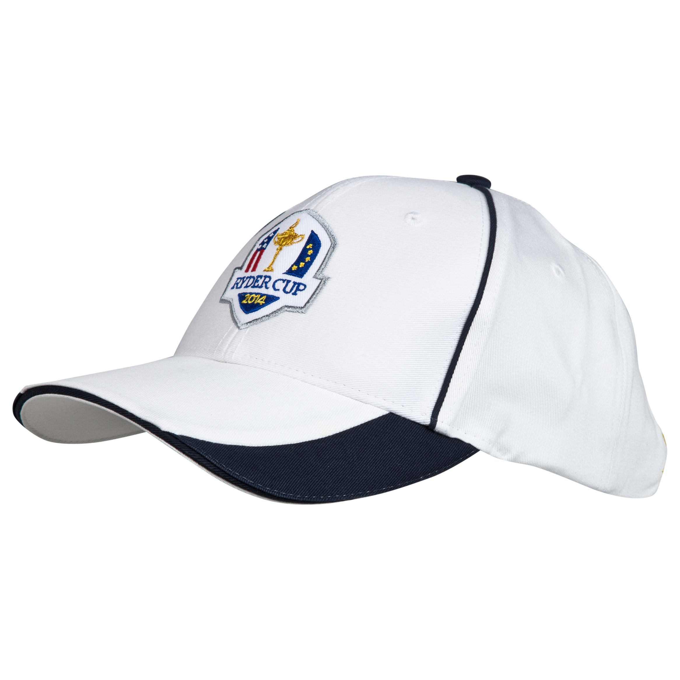 The 2014 Ryder Cup Glenmuir Fanwear Vorlich Cap - White / Navy