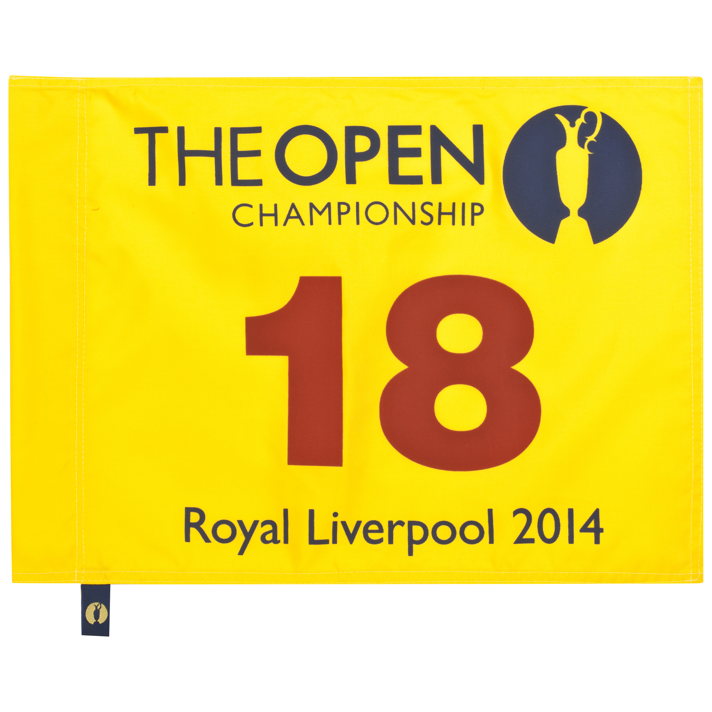 The Open Championship Royal Liverpool 2014 Pin Flag