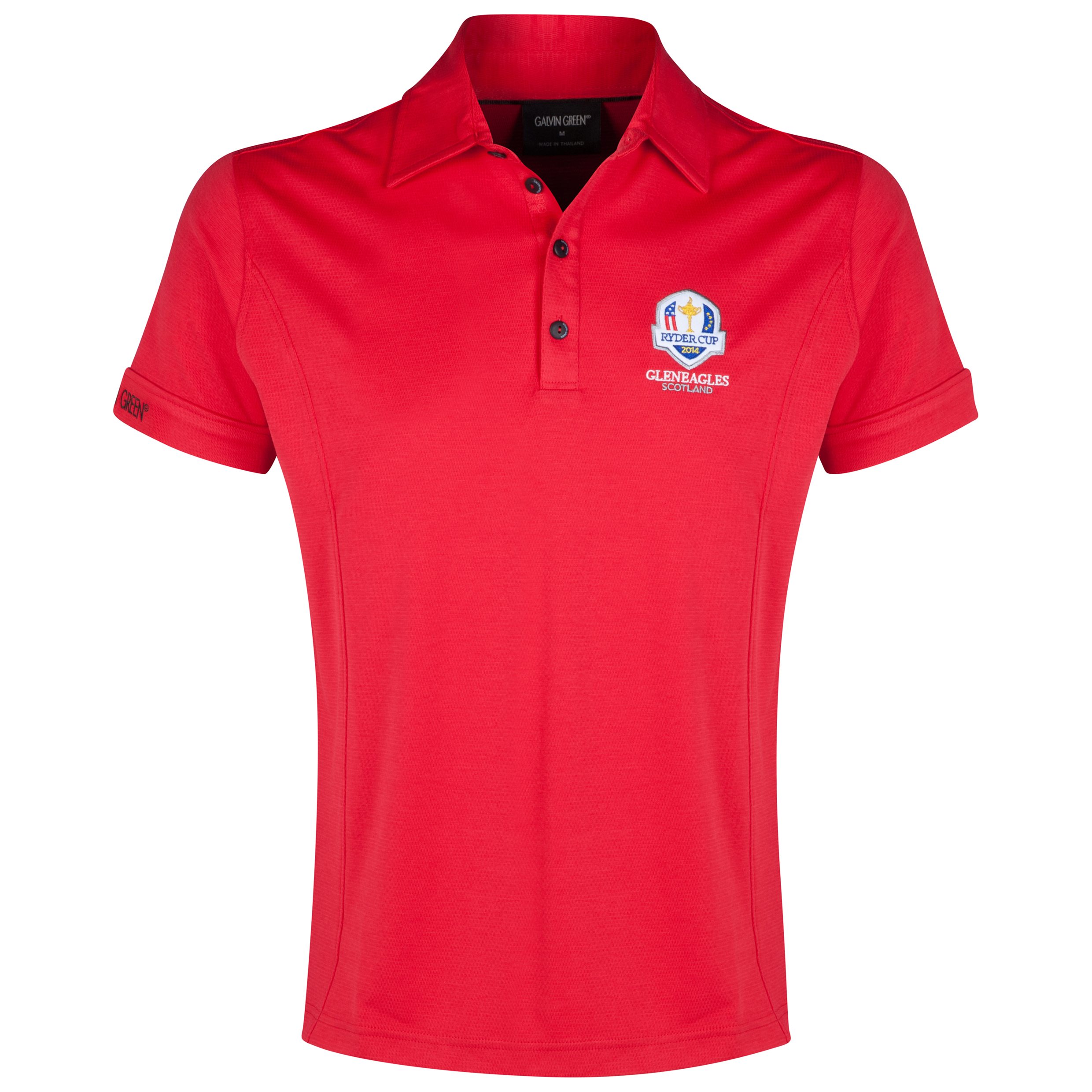 The 2014 Ryder Cup Galvin Green Mark Polo Red