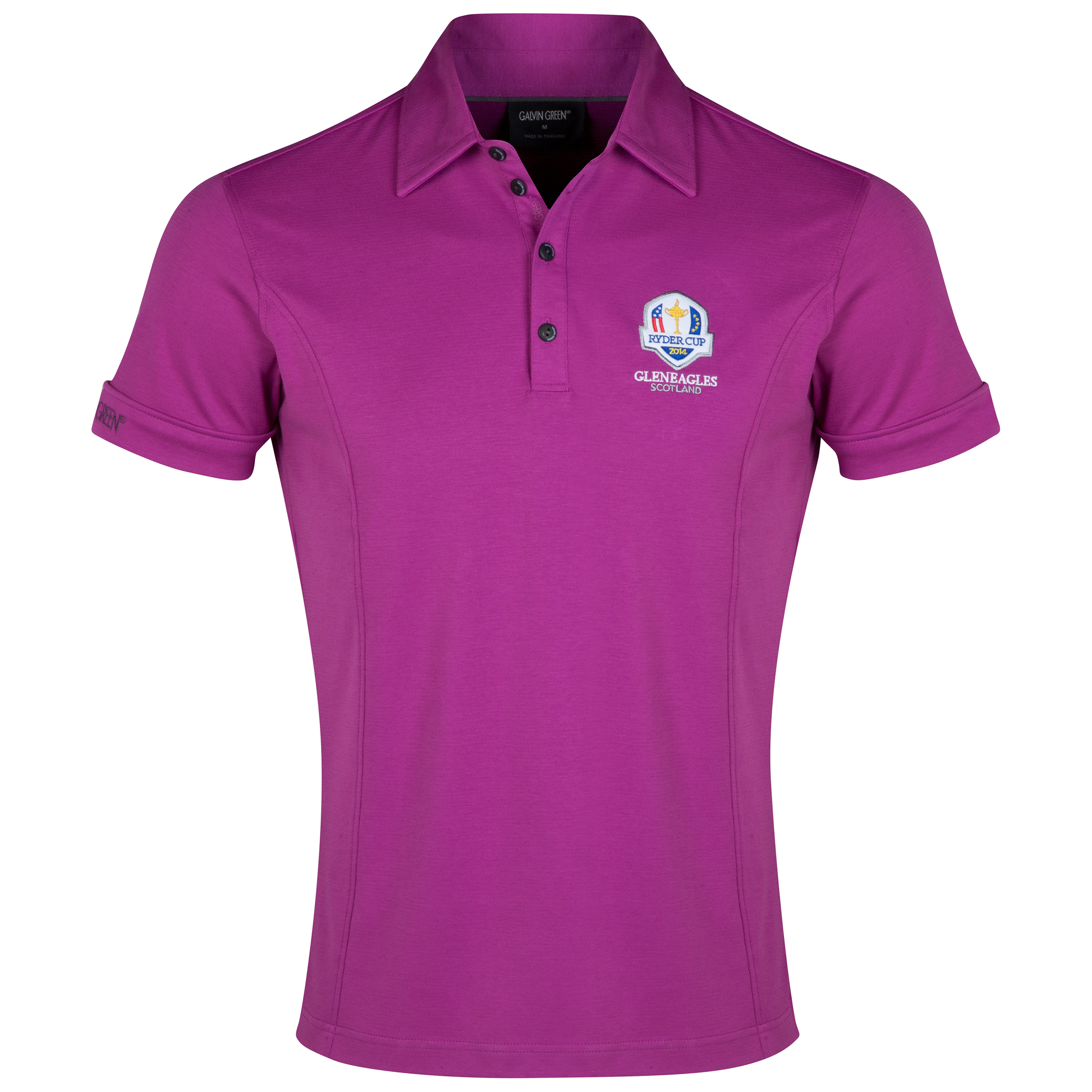 The 2014 Ryder Cup Galvin Green Mark Polo Purple
