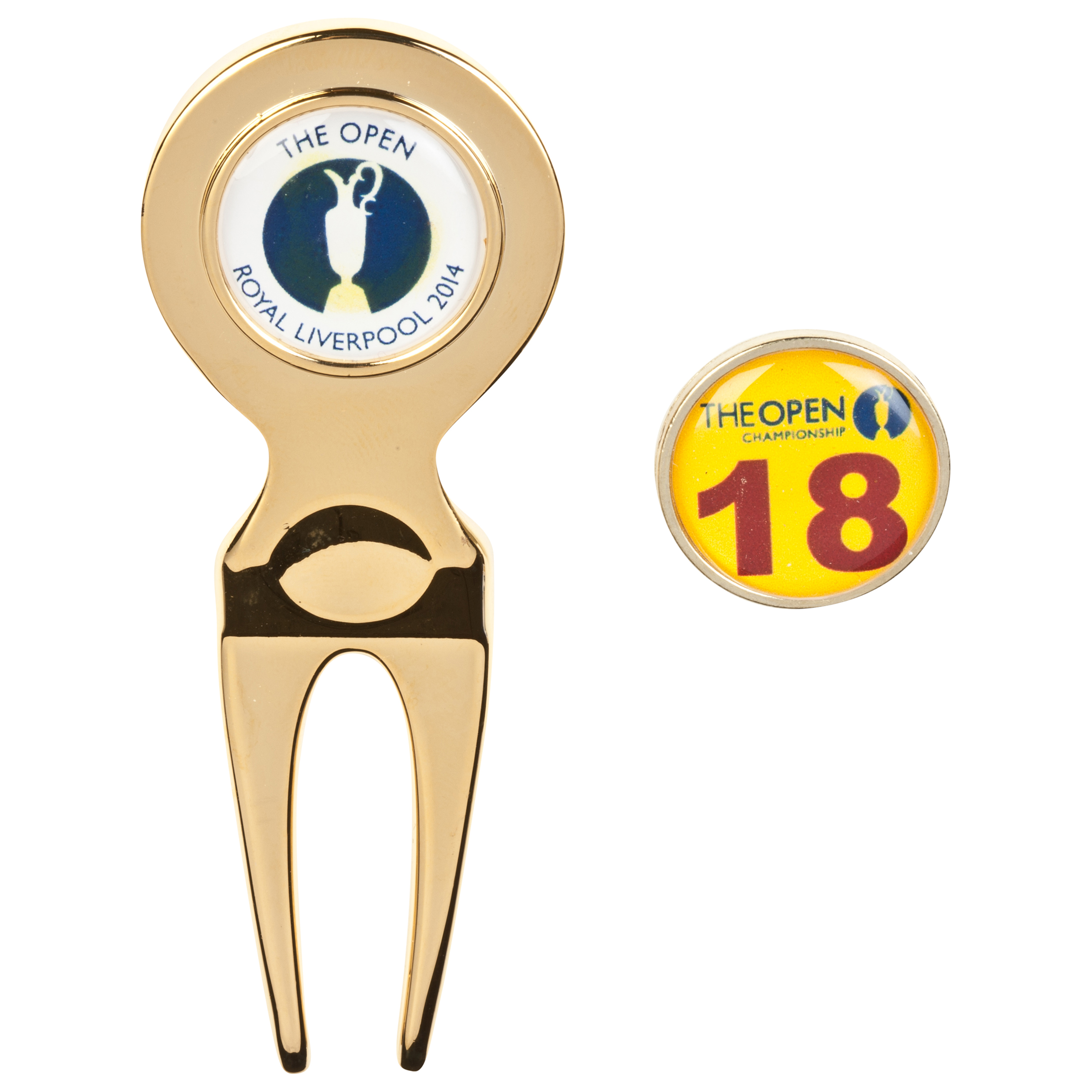 The Open Championship Royal Liverpool 2014 Pitchfork & Ballmarker