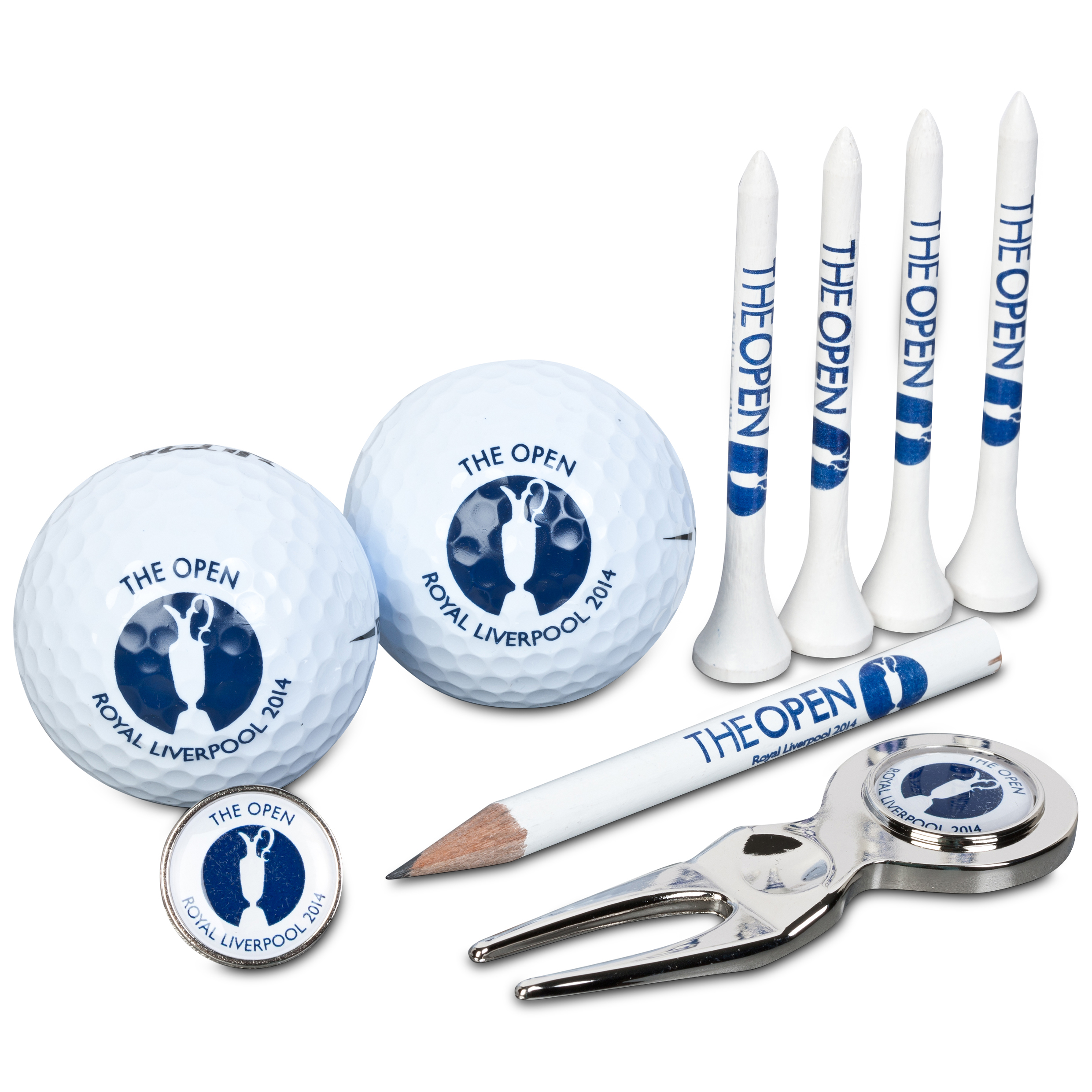 The Open Championship Royal Liverpool 2014 PF / BM / Tees / Pencil / 2GB