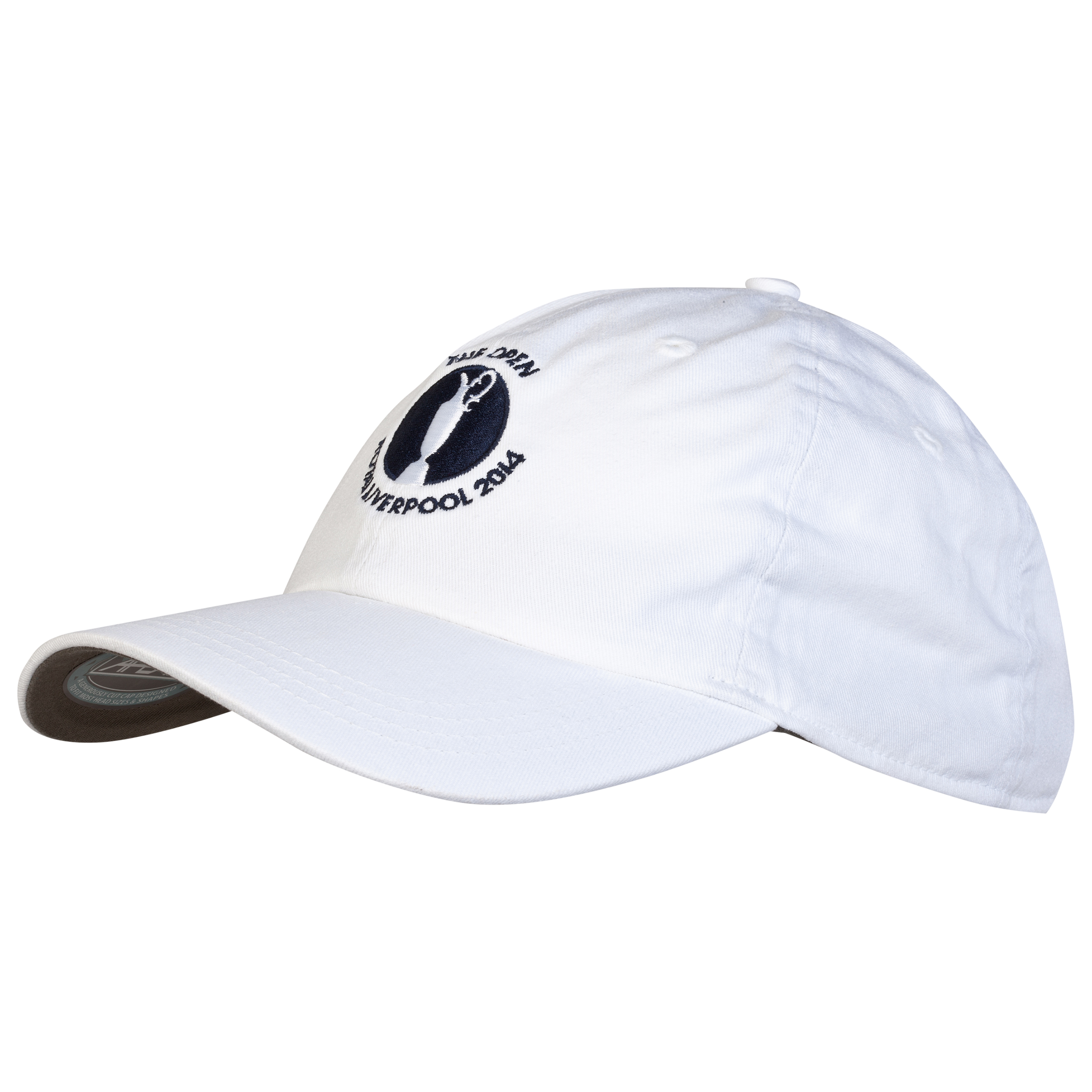 The Open Championship Royal Liverpool 2014 Classic Solid Unstructured Cap White