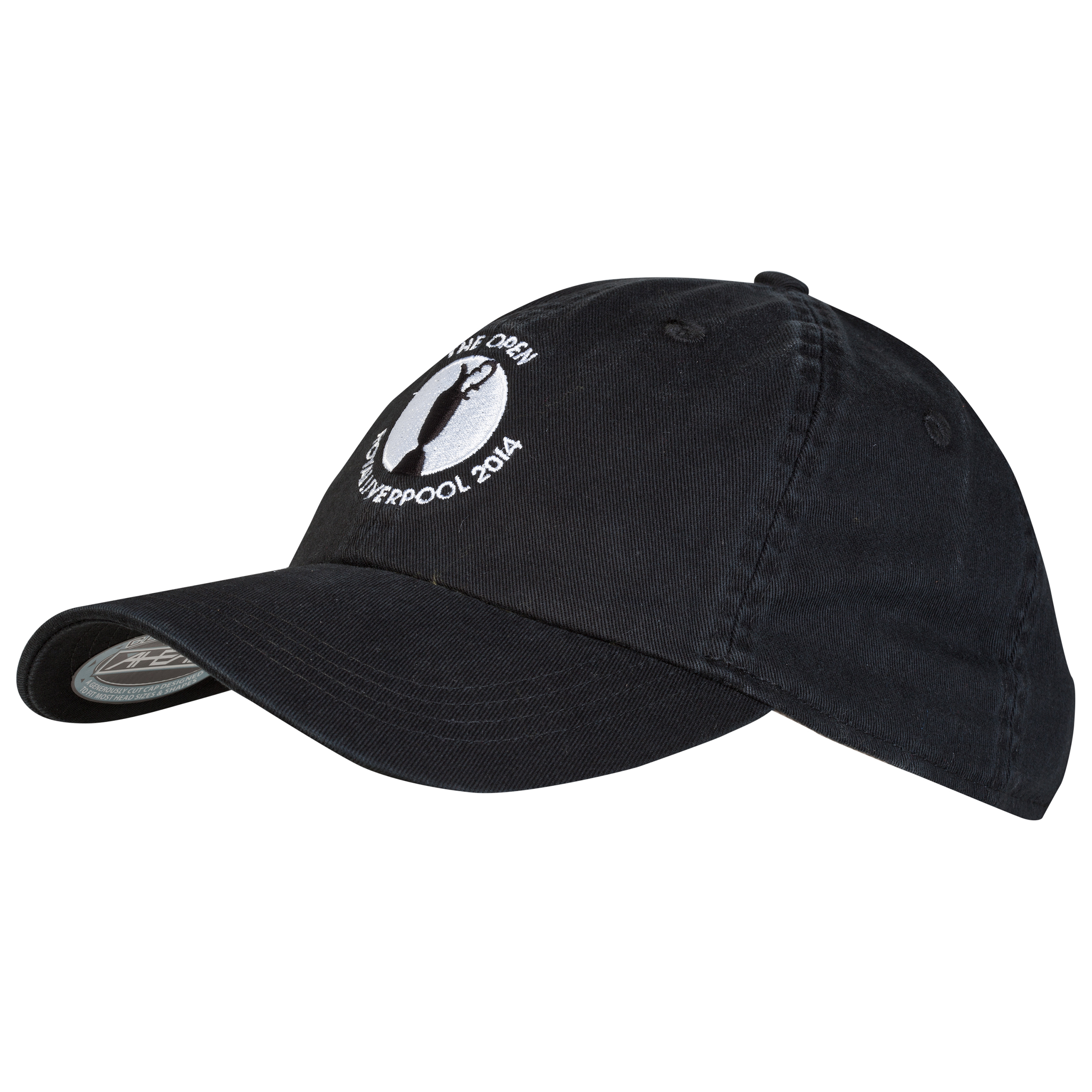 The Open Championship Royal Liverpool 2014 Classic Solid Unstructured Cap Black