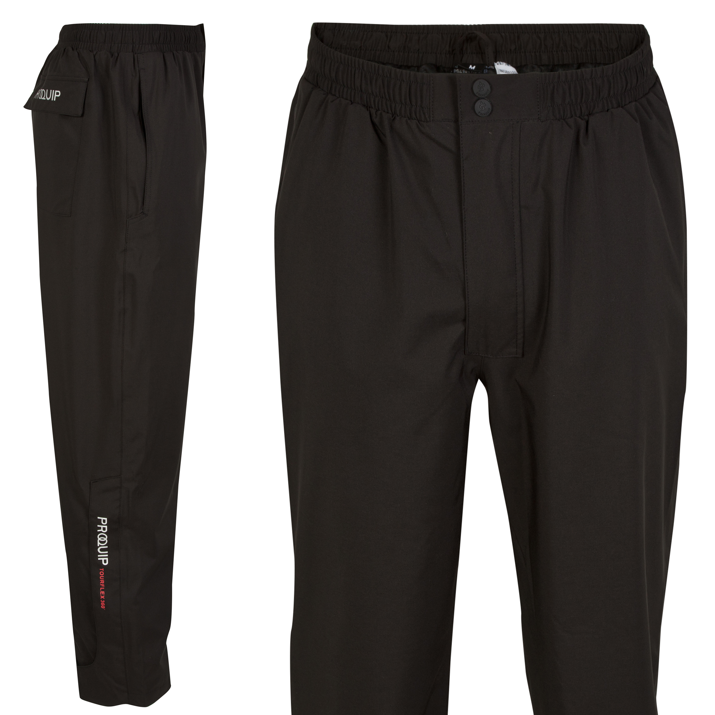 The 2014 Ryder Cup Tourflex Waterproof Trouser 33 Inch Leg Black