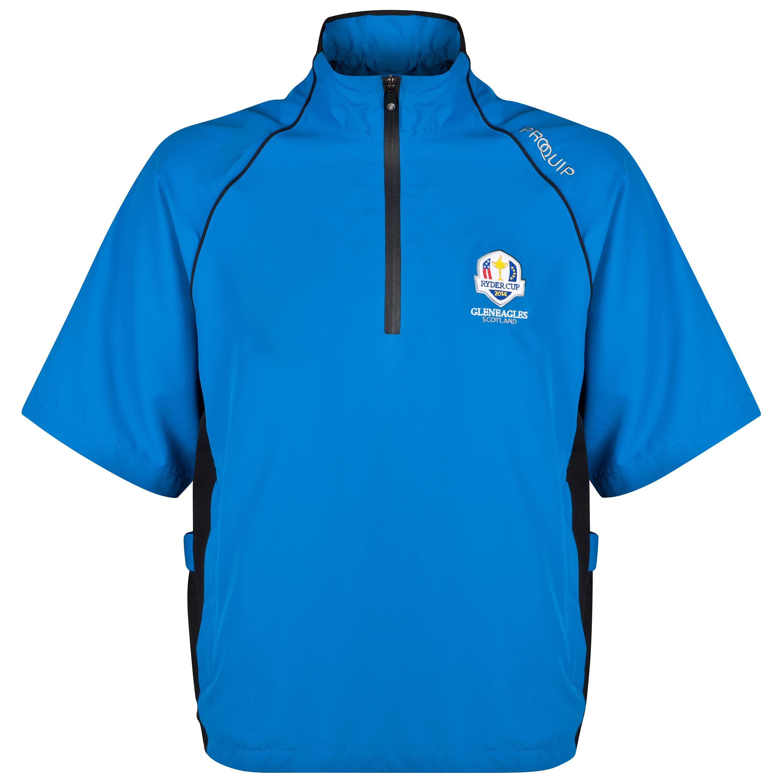 The 2014 Ryder Cup Ultralite Short Sleeve Wind Shirt Blue