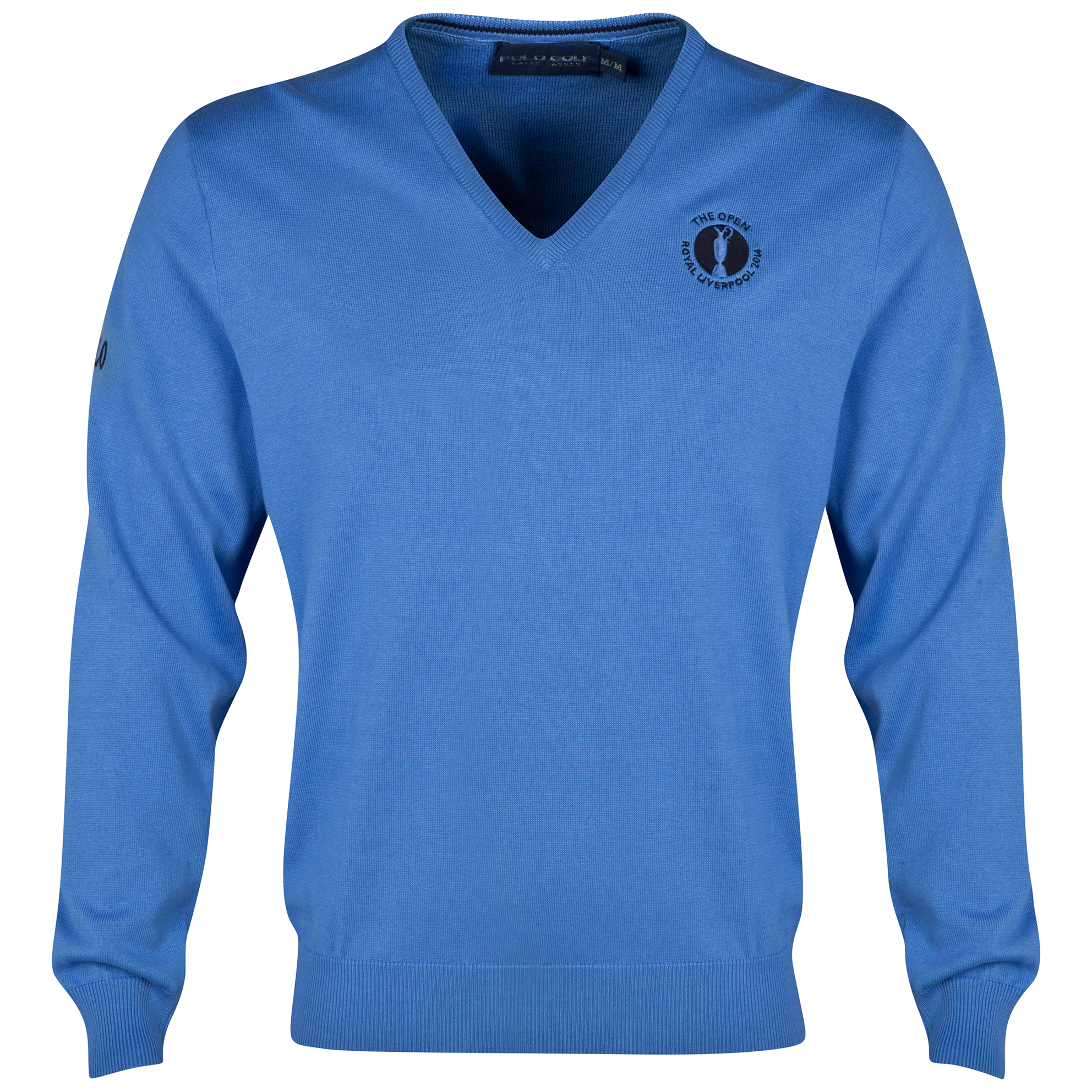 The Open Championship Royal Liverpool 2014 Ralph Lauren Core Long Sleeved Sweater - Blue