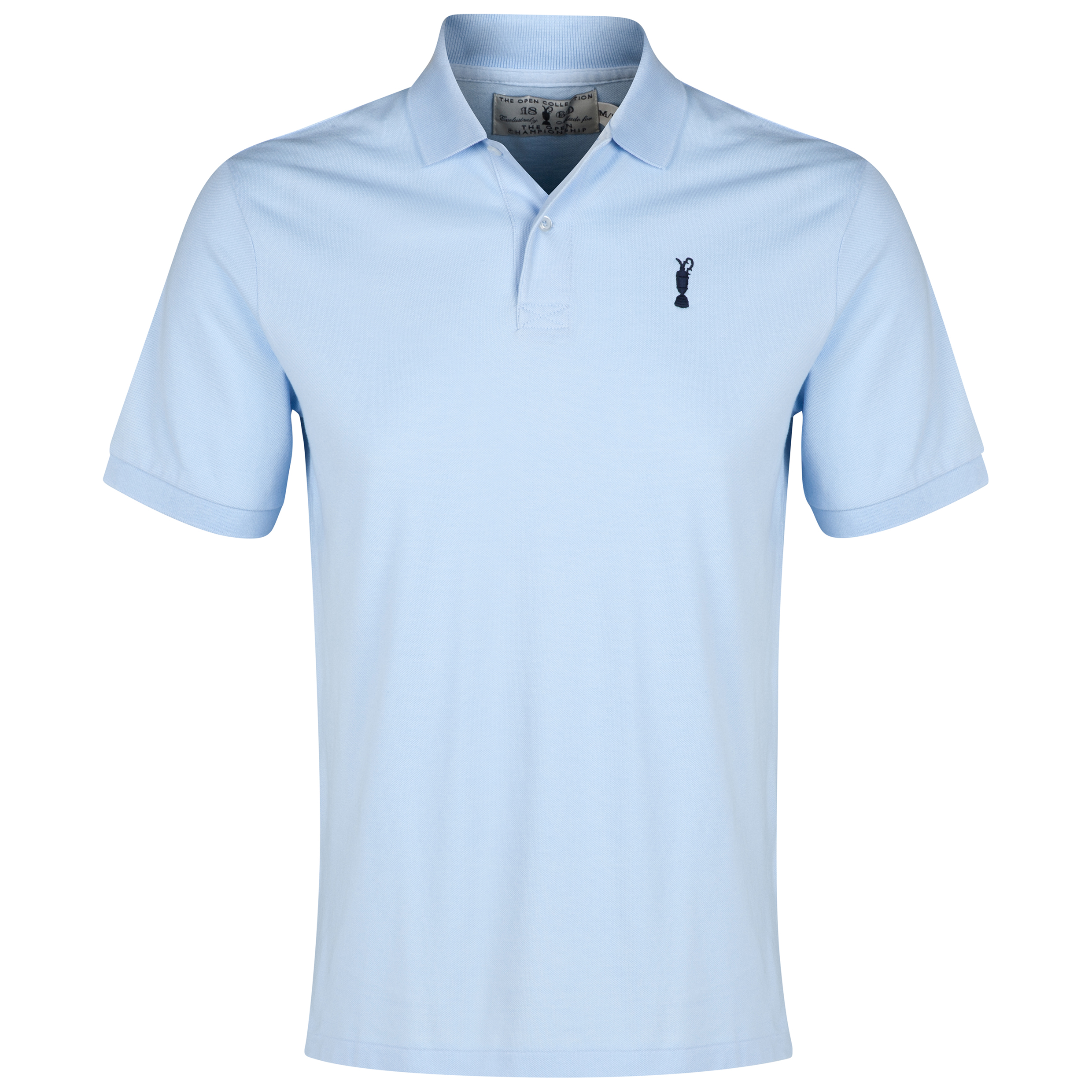The Open Championship Collection Solid Polo Blue