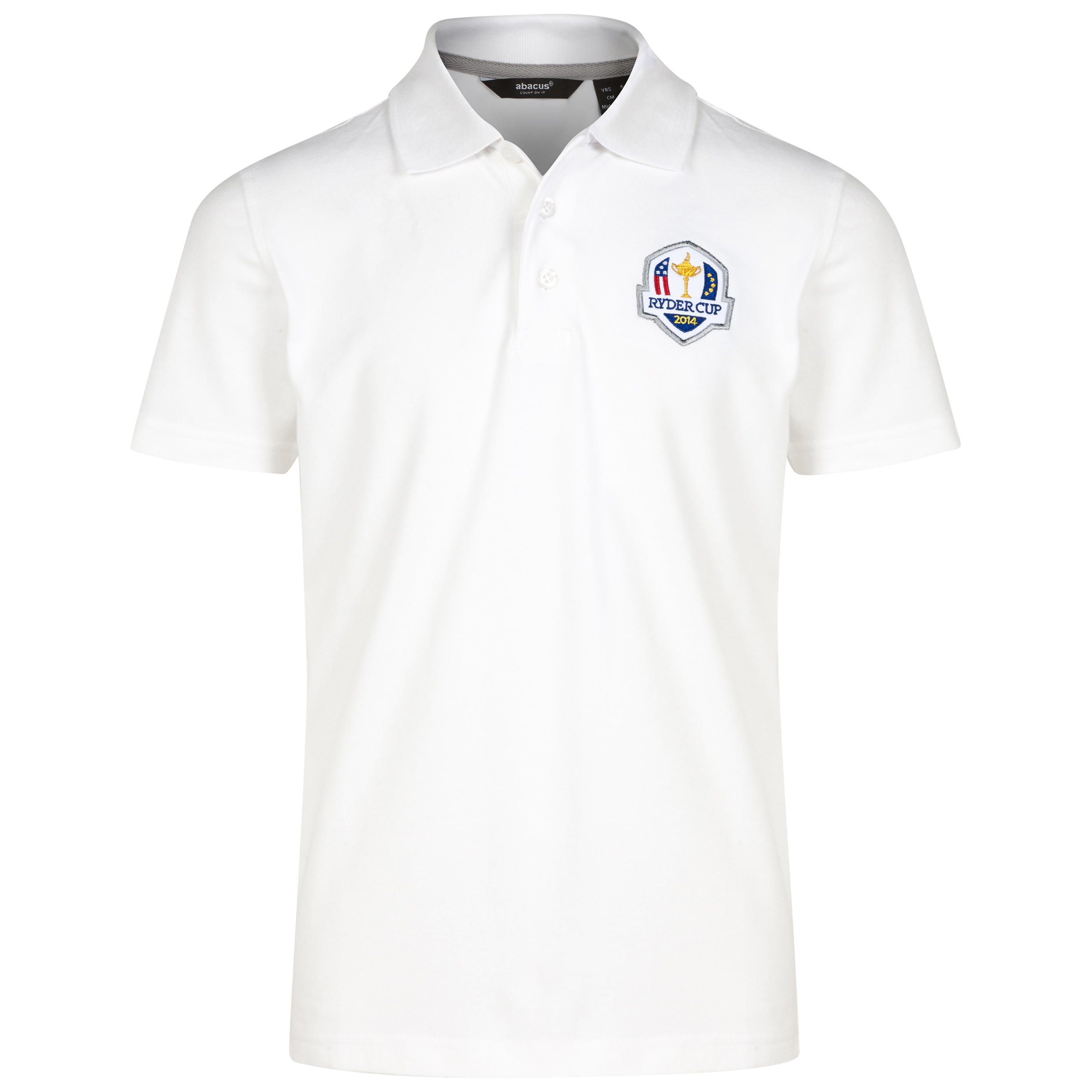The 2014 Ryder Cup abacus Junior Cedlite Polo  White