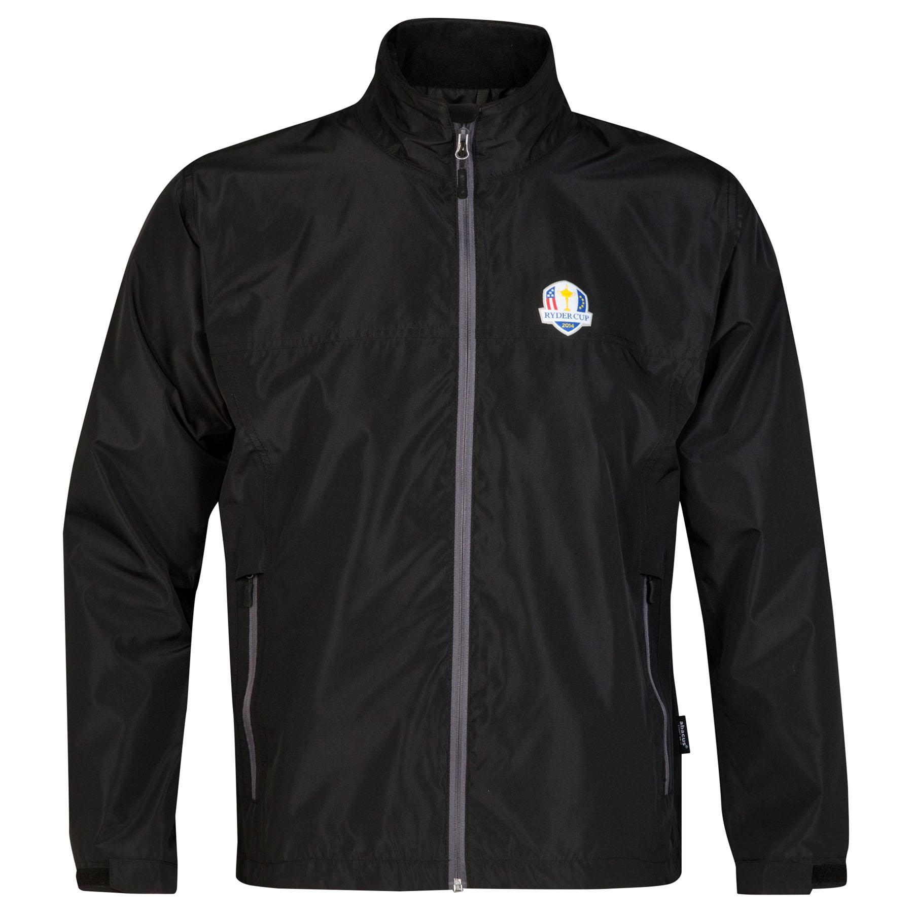 The 2014 Ryder Cup abacus Mens Dixon Rain Jacket - Black