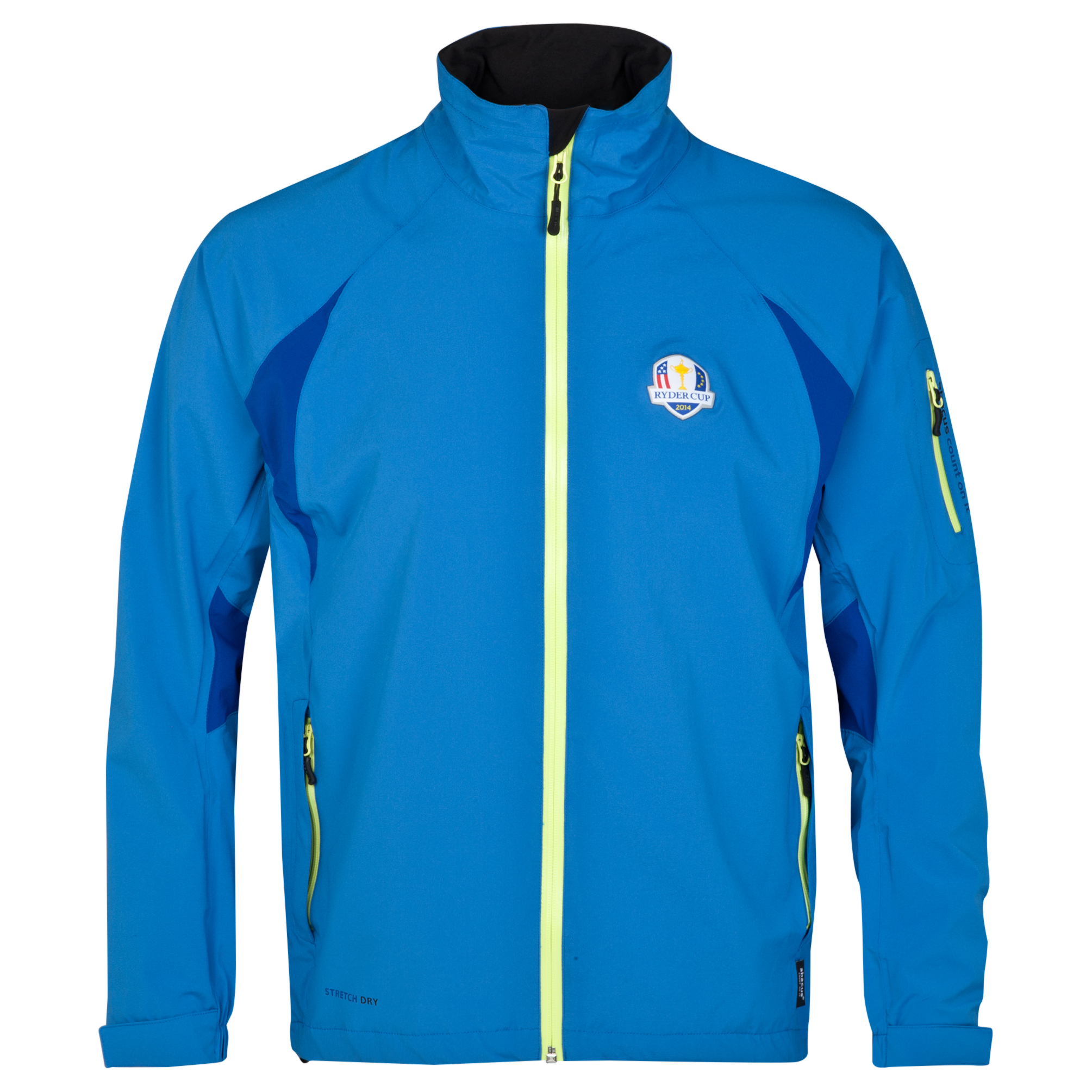 The 2014 Ryder Cup abacus Mens Nipton Rain Jacket - Cobalt