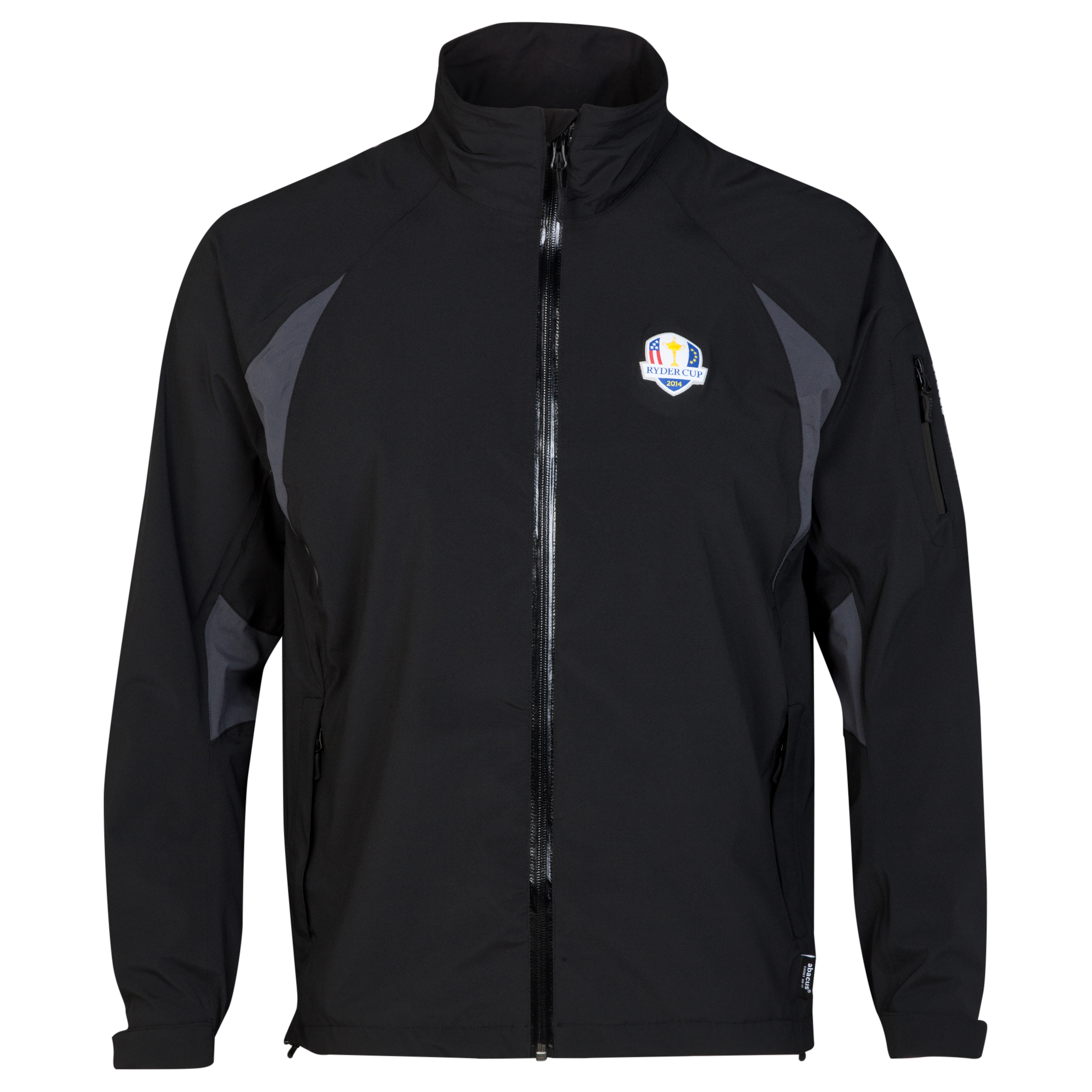 The 2014 Ryder Cup abacus Mens Nipton Rain Jacket - Black