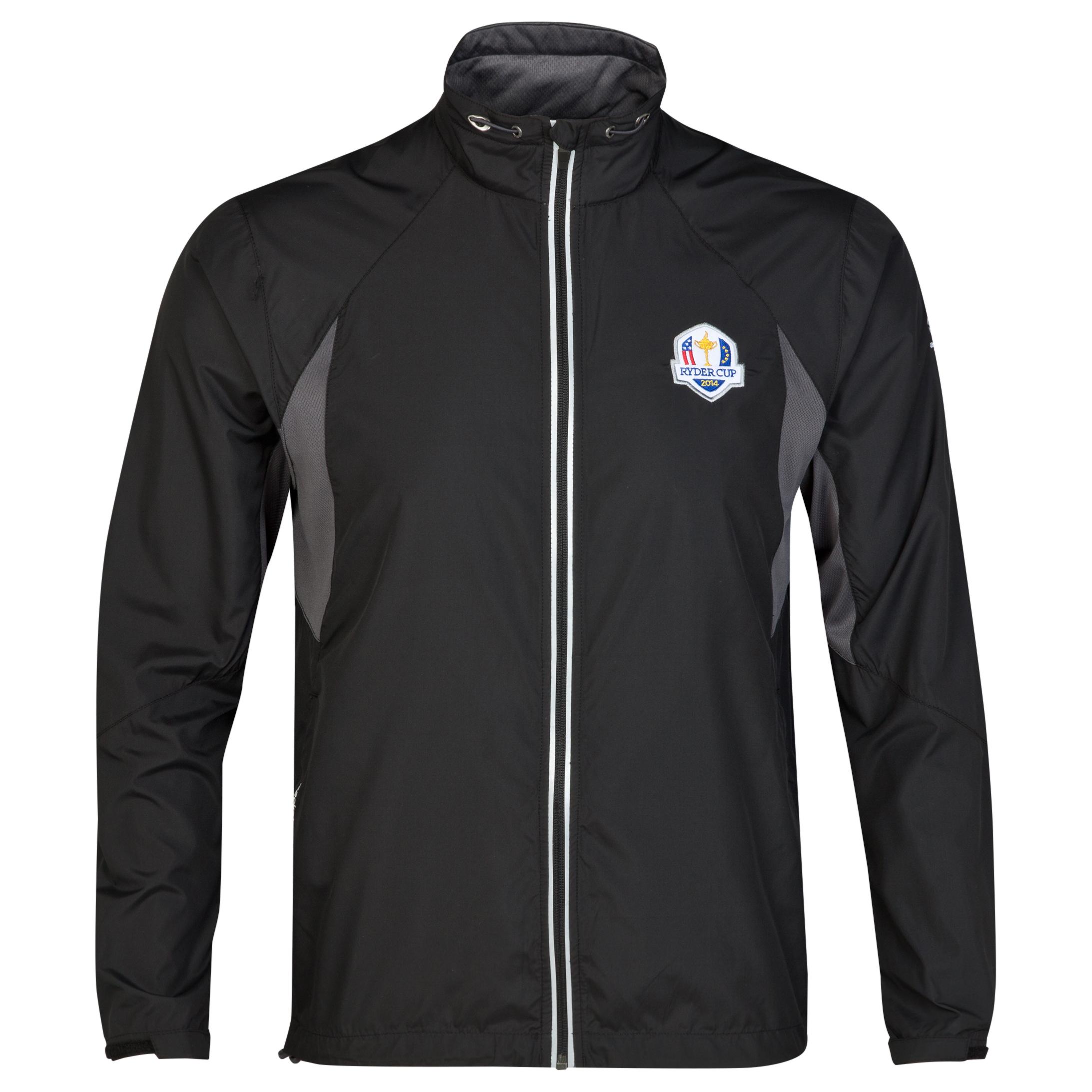 The 2014 Ryder Cup abacus Mens Glade Wind Jacket - Black