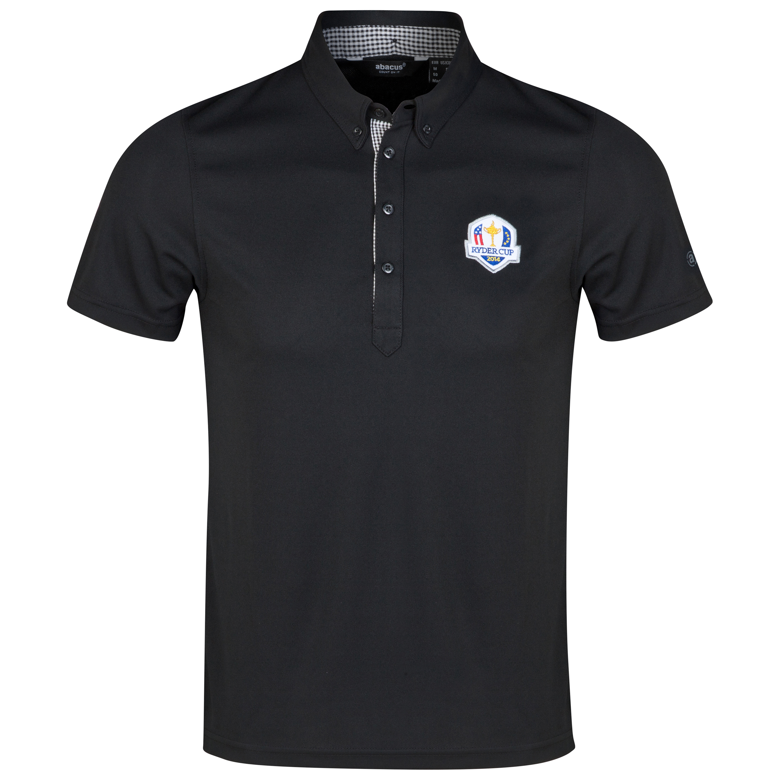 The 2014 Ryder Cup abacus Mens Oliver Polo - Black
