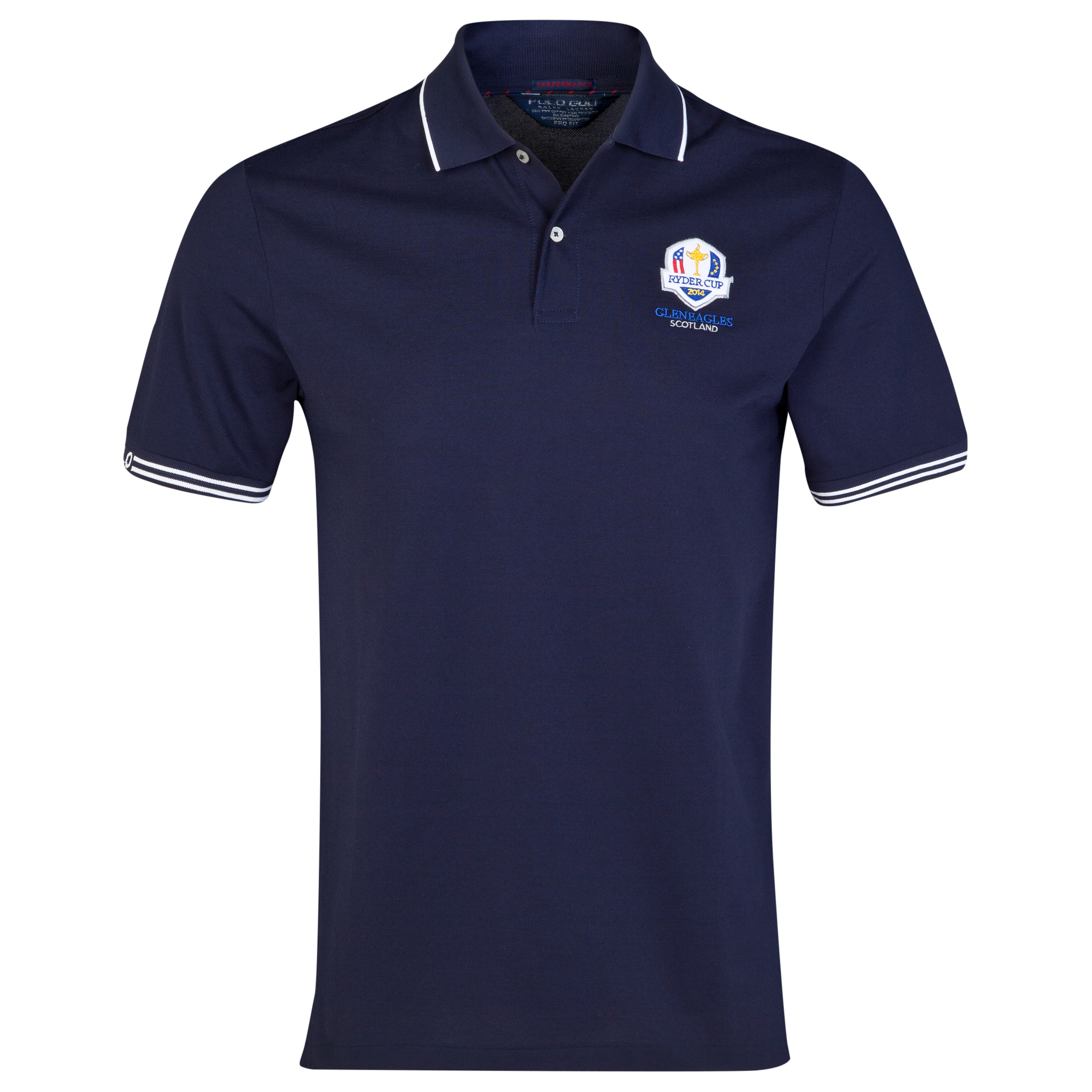 The 2014 Ryder Cup Ralph Lauren Mesh Pro Fit Polo - French Navy