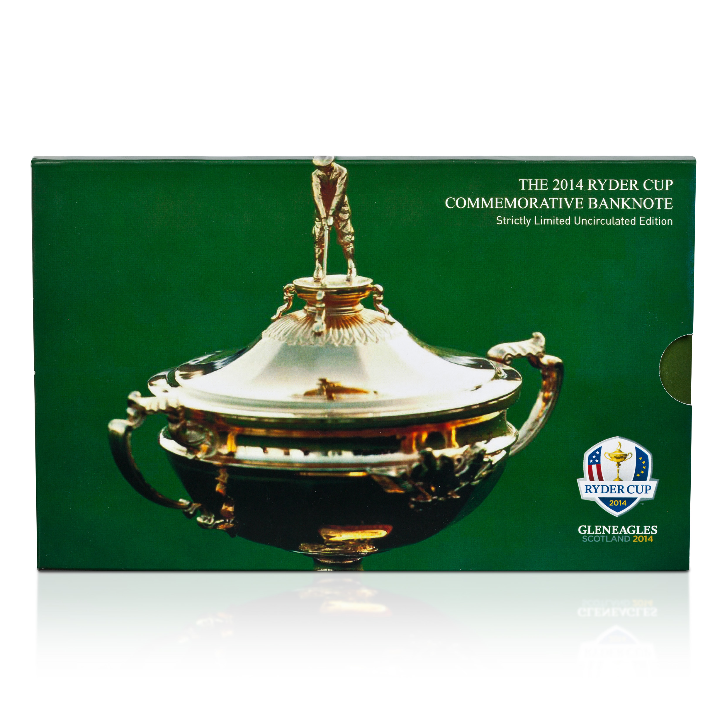 The 2014 Ryder Cup Commemorative Bank Note Folio