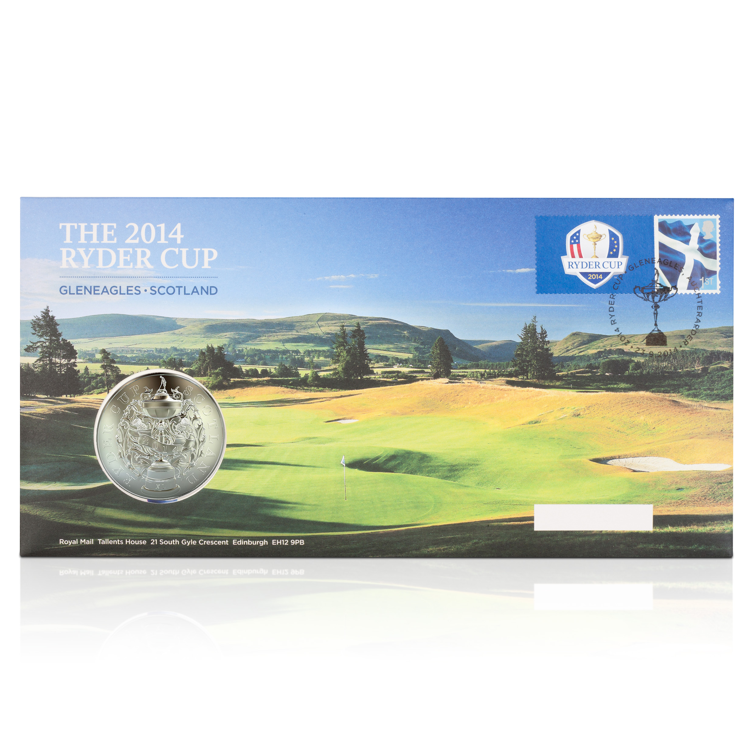 The 2014 Ryder Cup Royal Mail Postal Commemorative