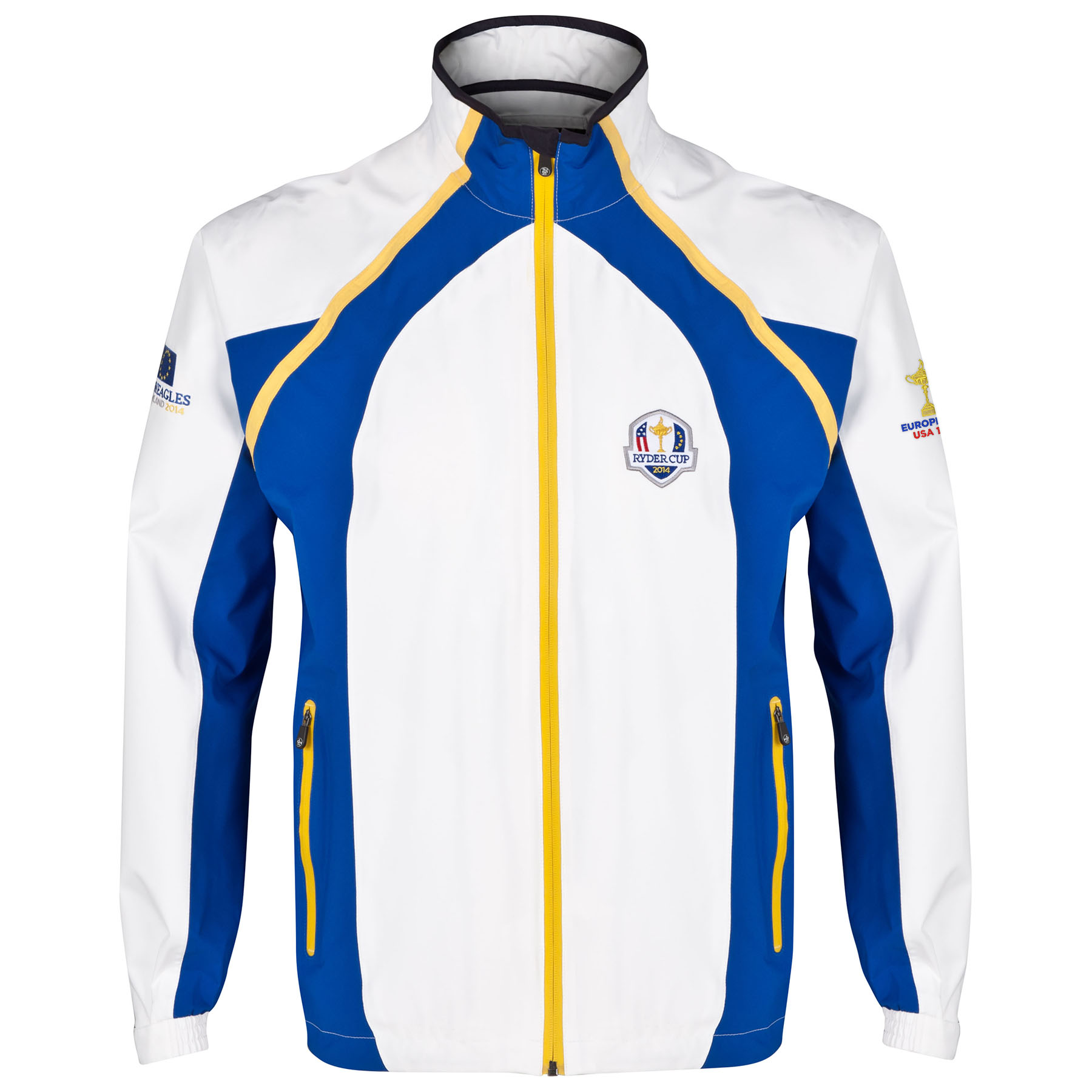 The 2014 Ryder Cup ProQuip Winners Team Jacket - White