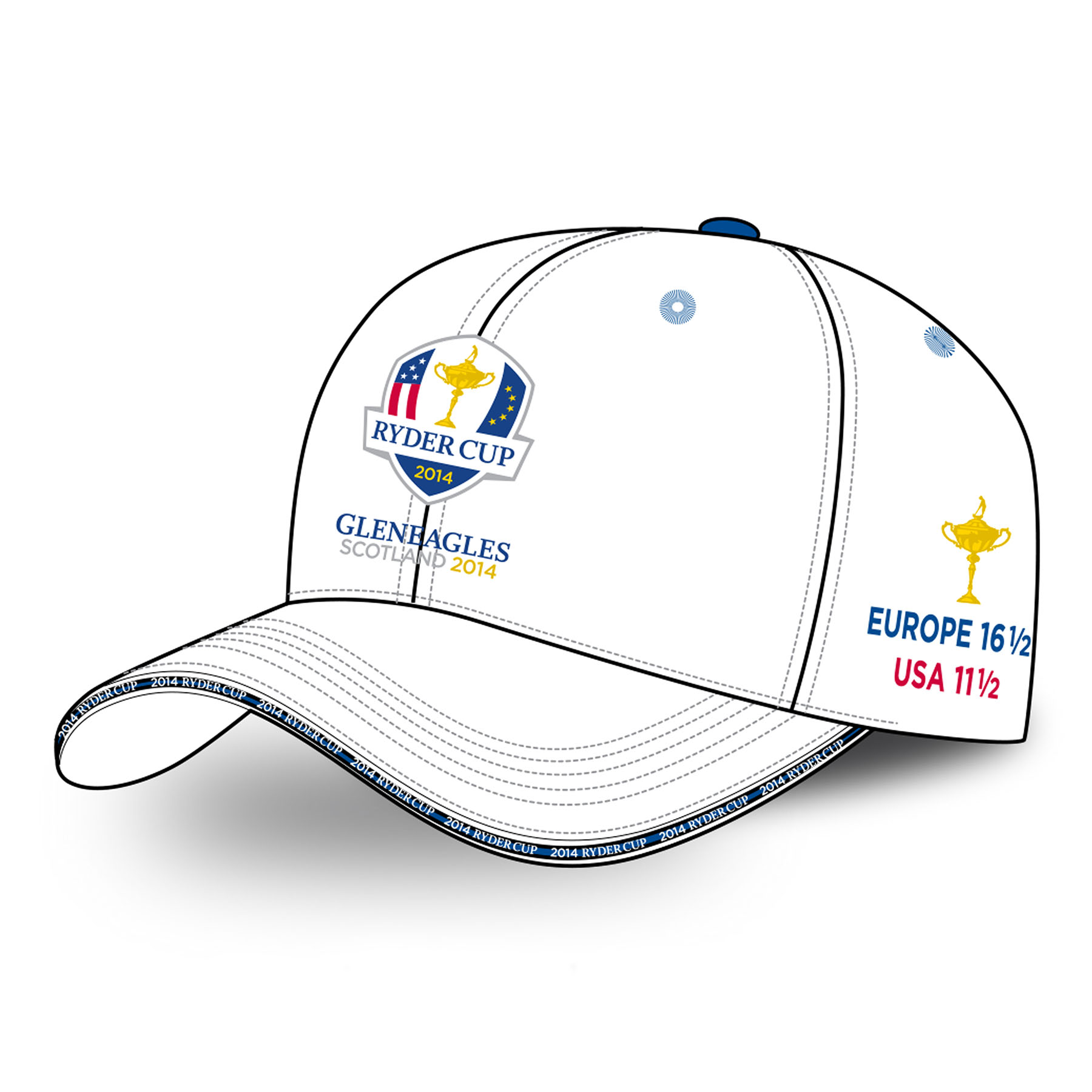 The 2014 Ryder Cup Winners Cap - White