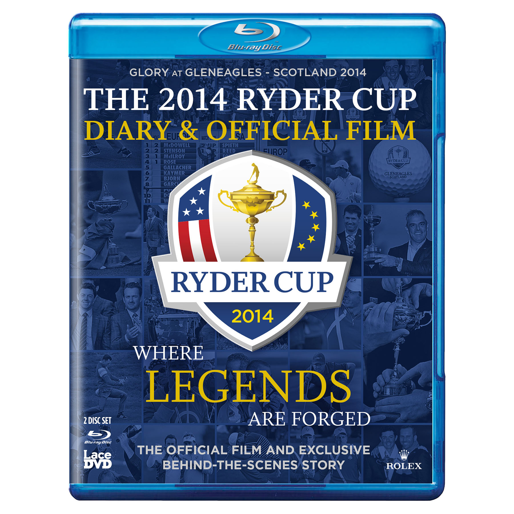 The 2014 Ryder Cup Diary and Official Film (40th) [Blu-Ray]