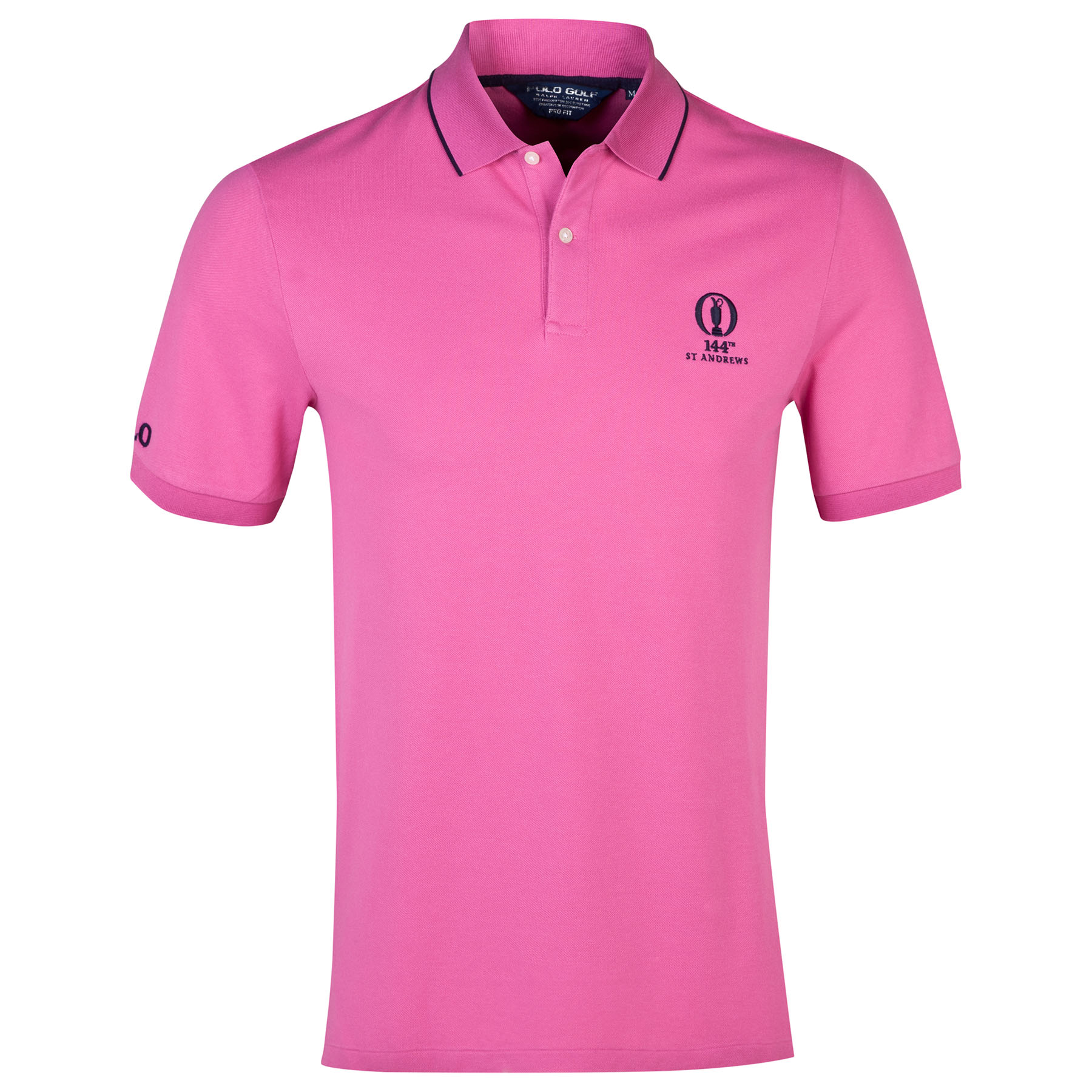The Open Championship Ralph Lauren Solid Polo - Peony