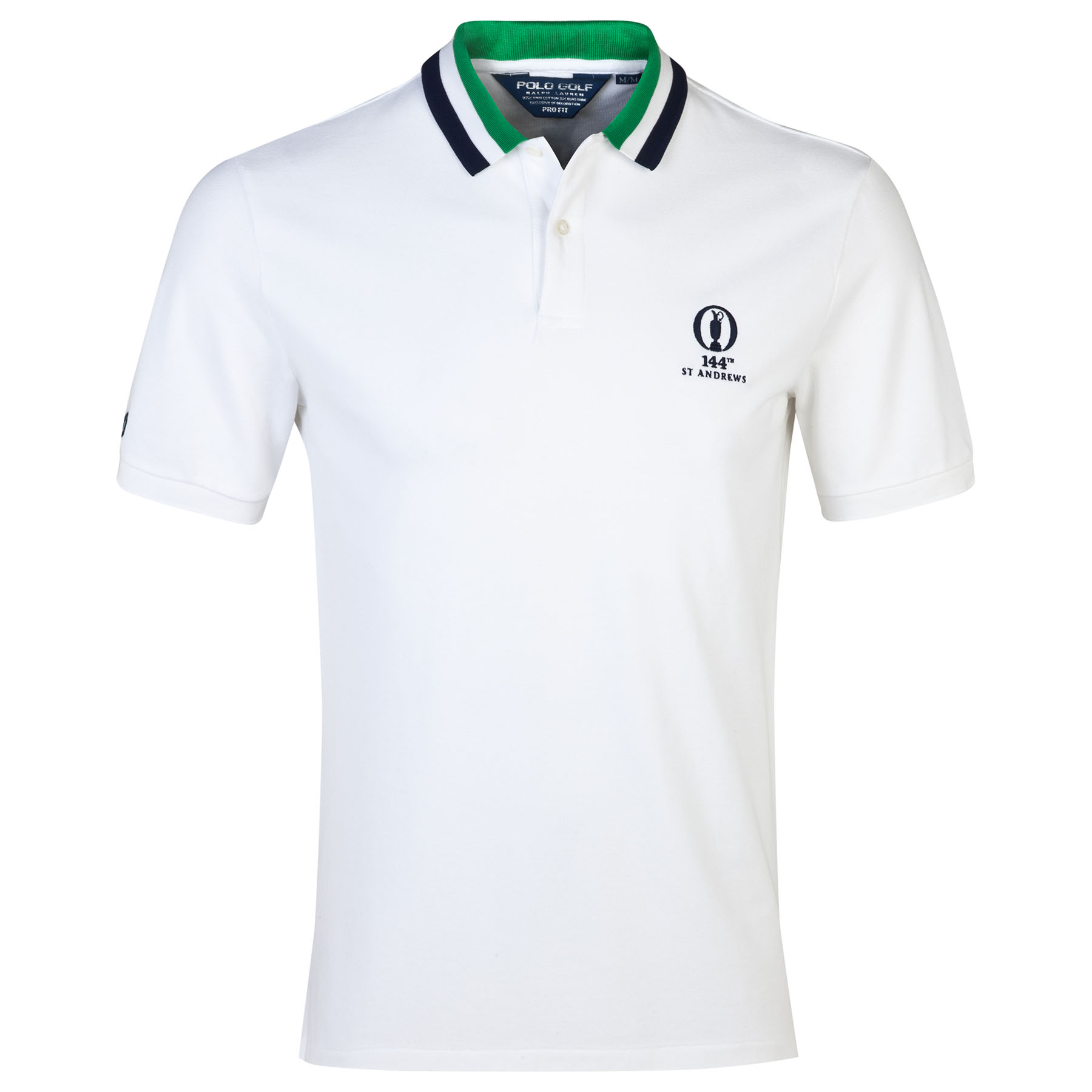 The Open Championship Ralph Lauren Solid Polo - White