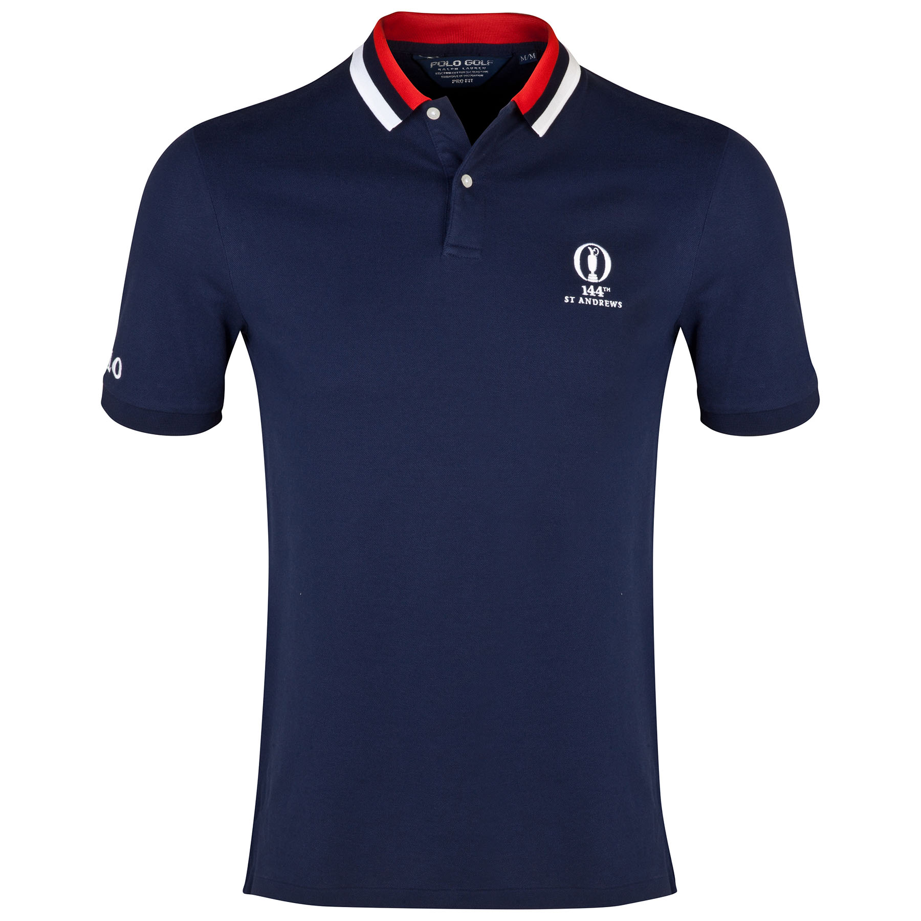 The Open Championship Ralph Lauren Stripe Polo - French Navy