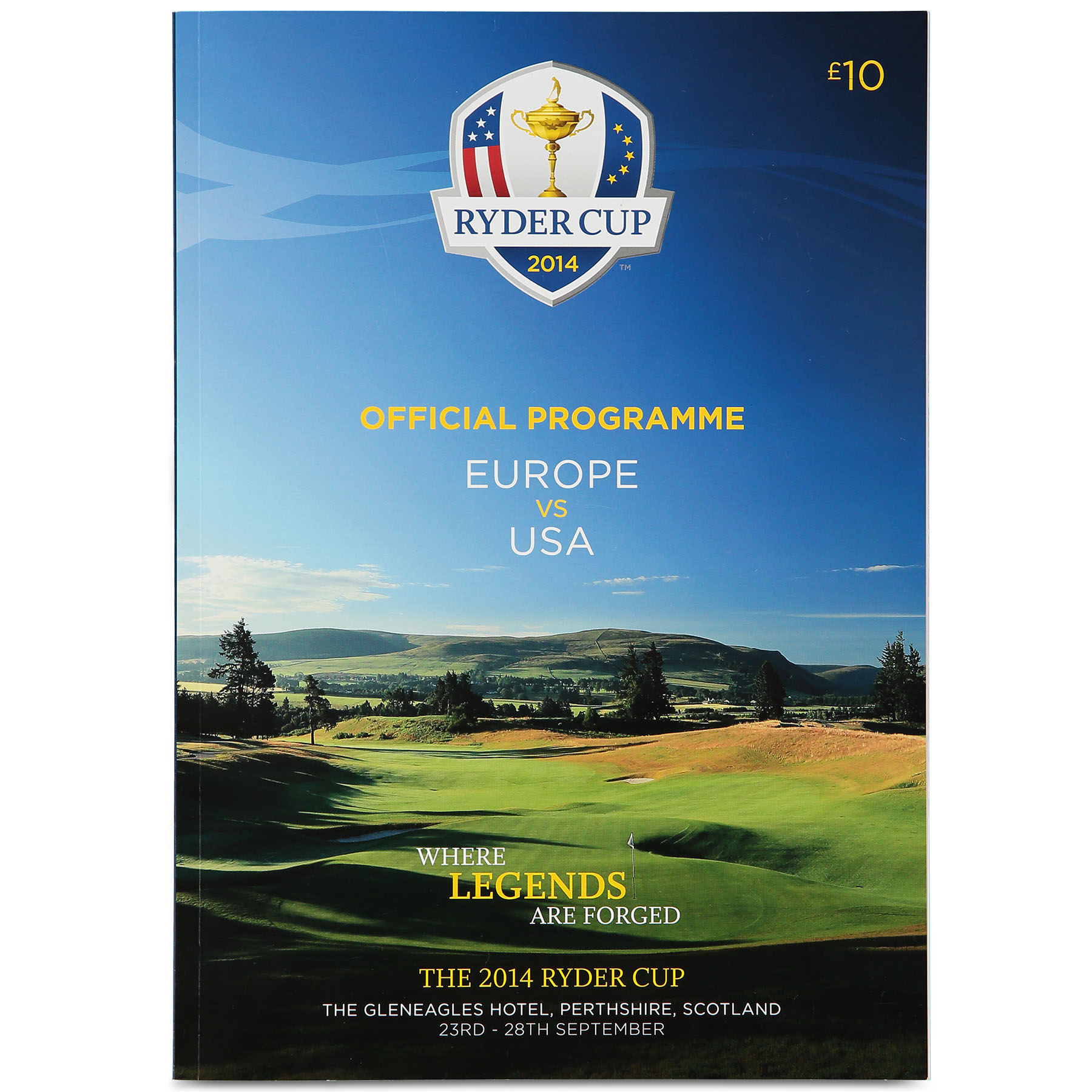 The 2014 Ryder Cup Official Programme