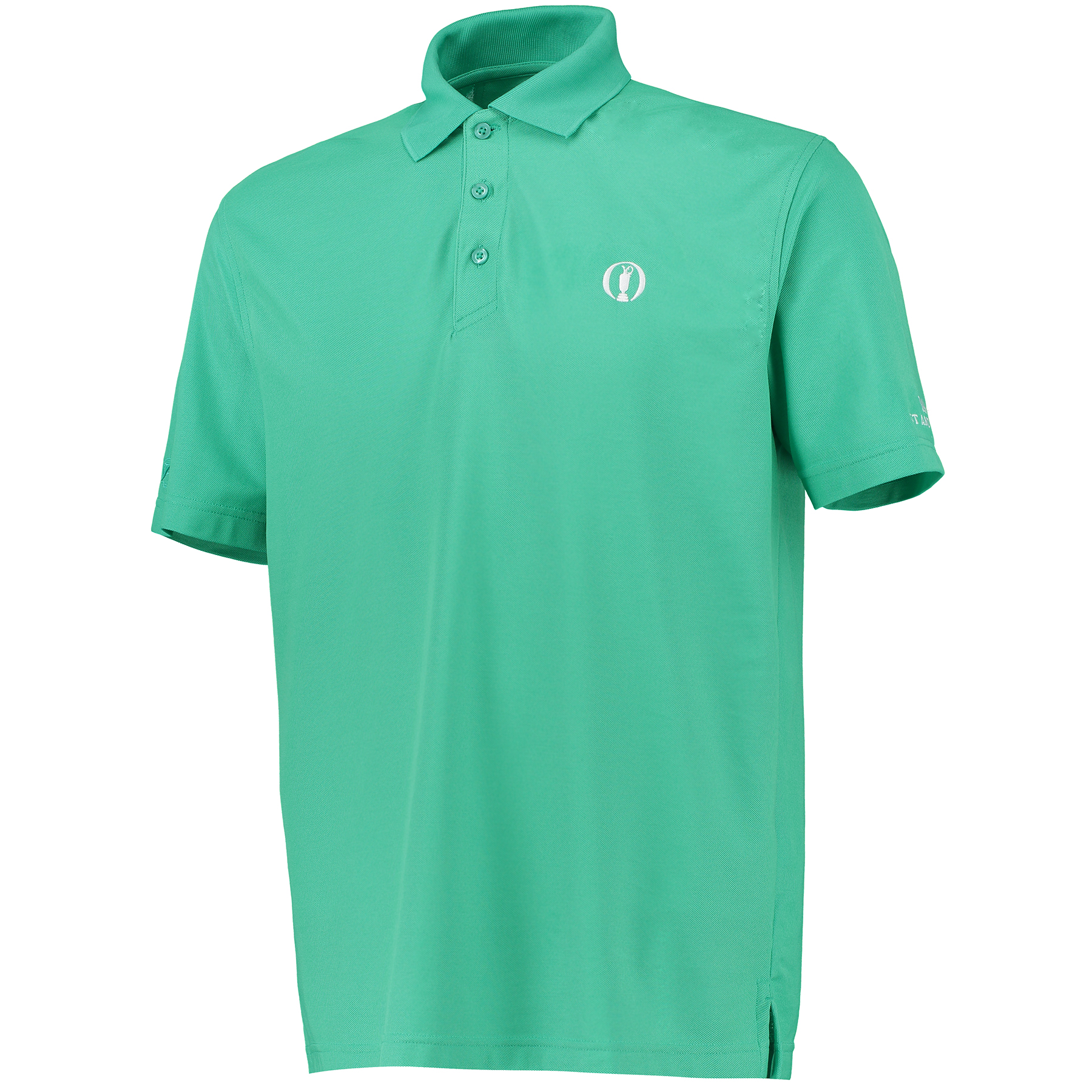 The Open 144th St Andrews Solid Polo - Peacock