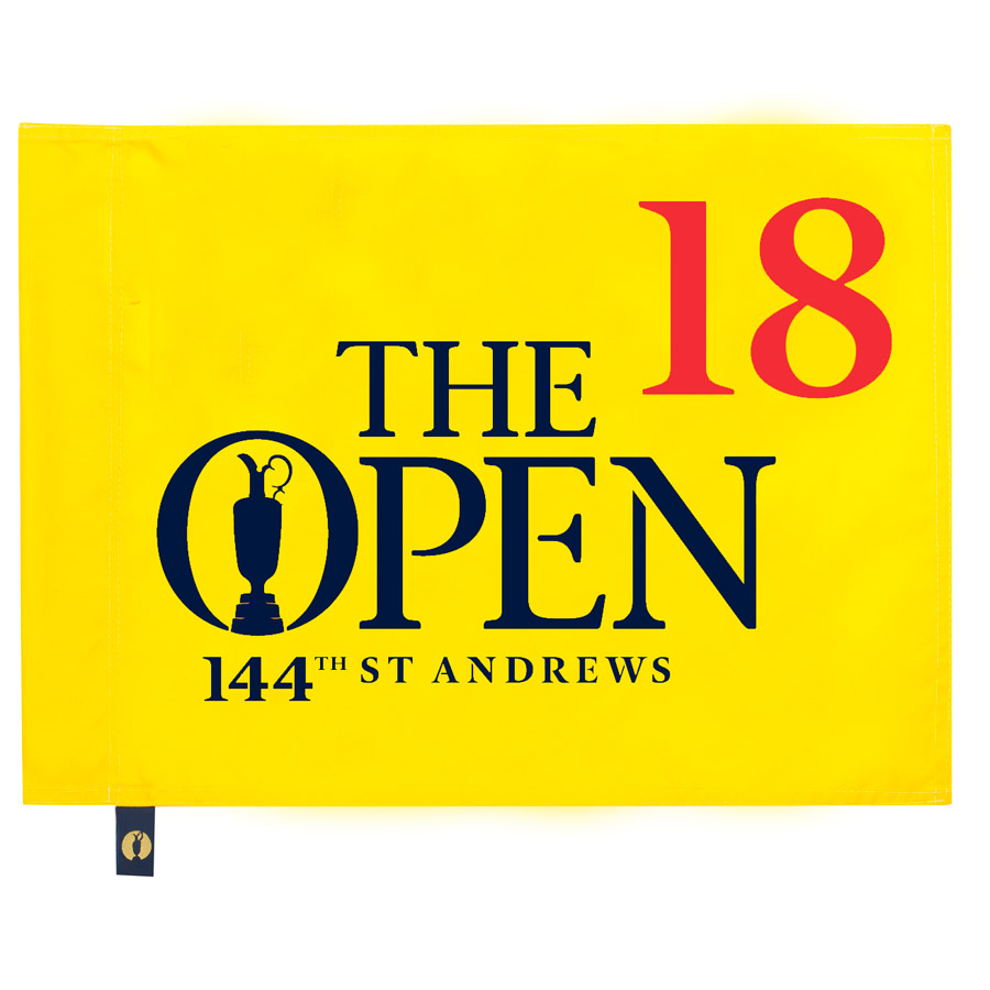 The Open 144th St Andrews Pin Flag