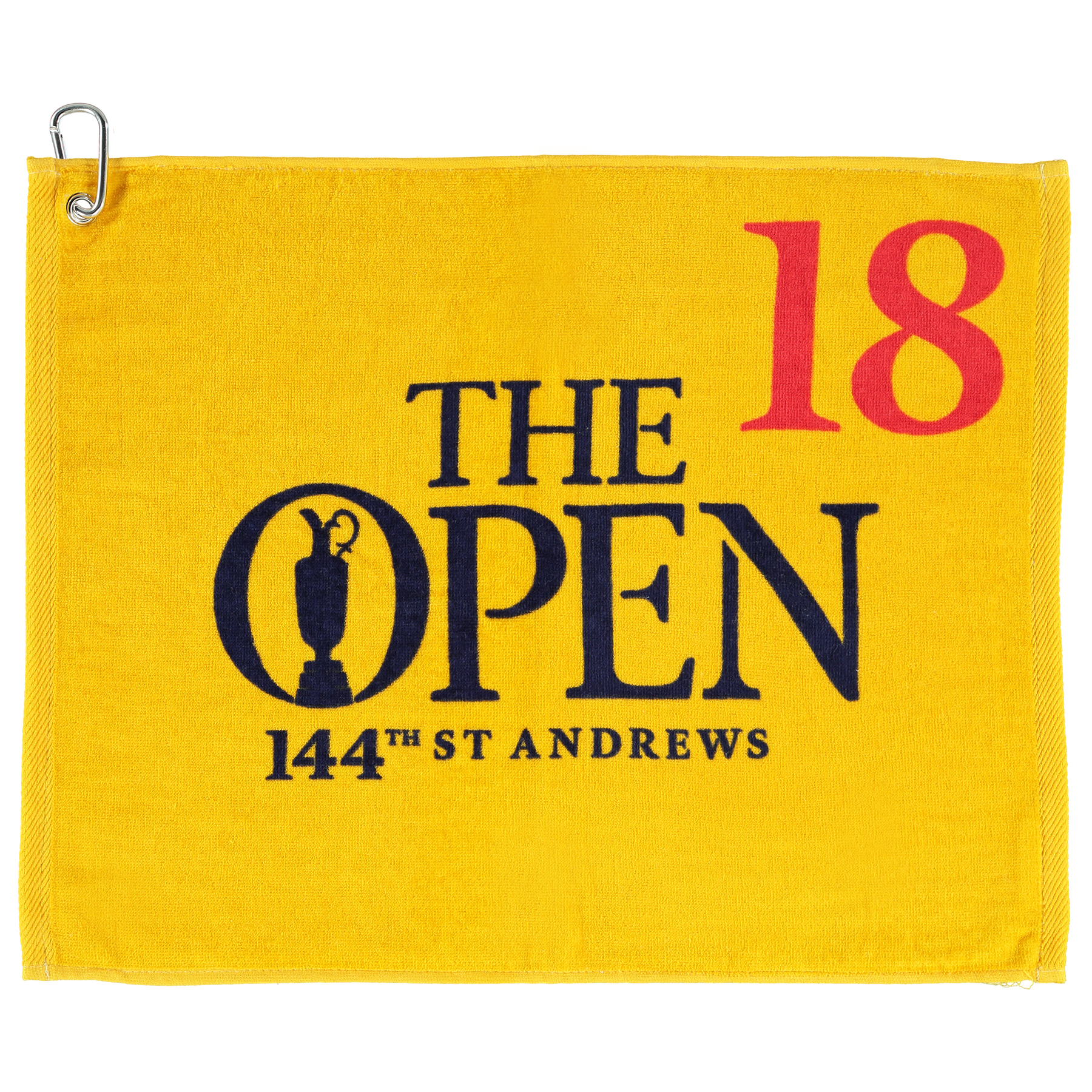 The Open 144th St Andrews Printed Towel - Yellow