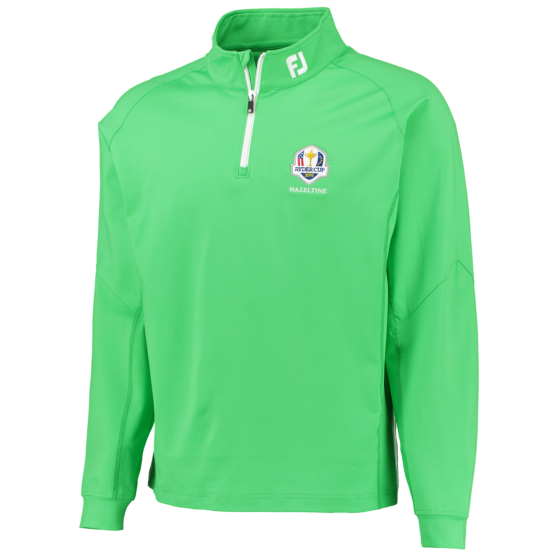 The 2016 Ryder Cup Footjoy Chill-Out Pullover - Lime