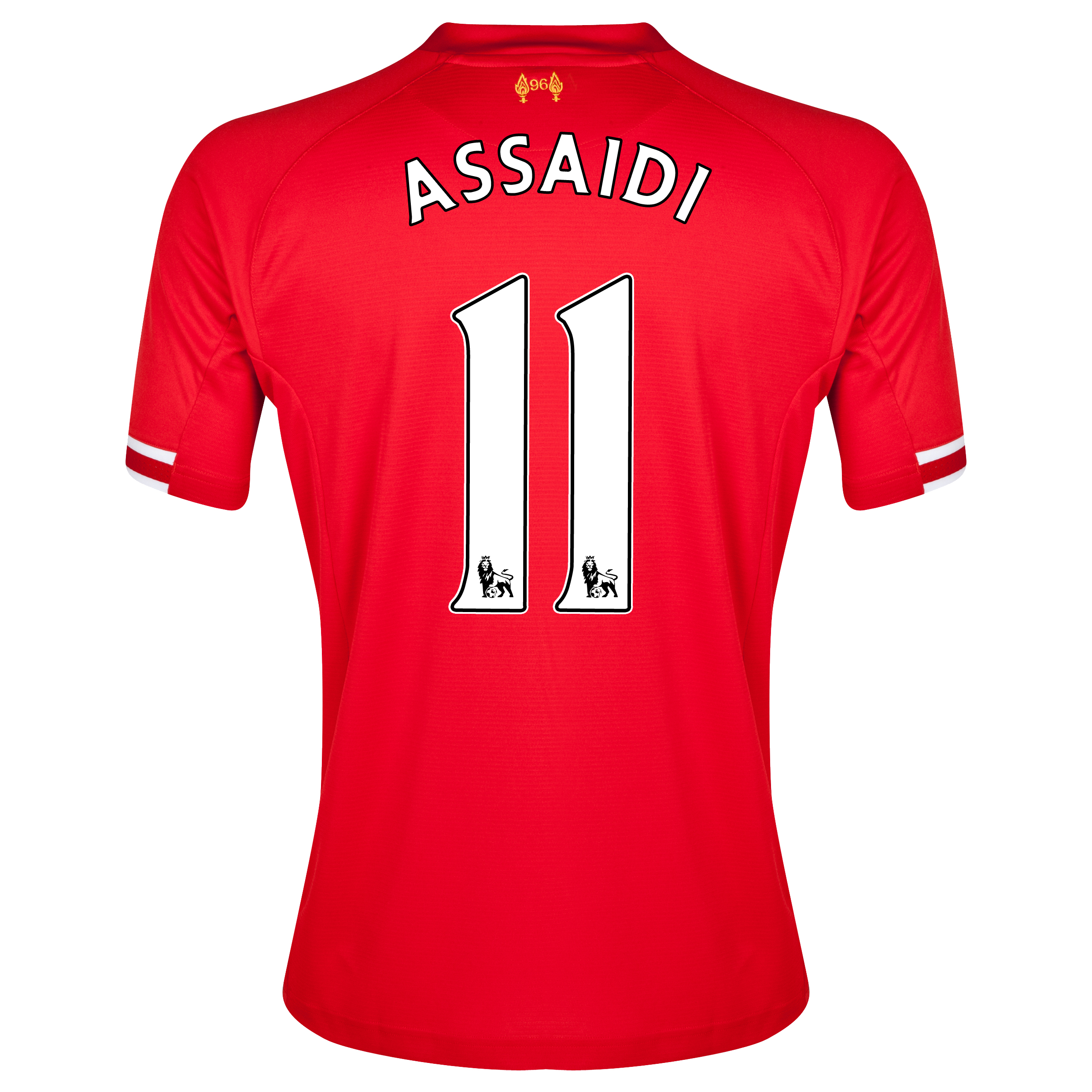 Liverpool Home Shirt 2013/14 with Assaidi 11 printing