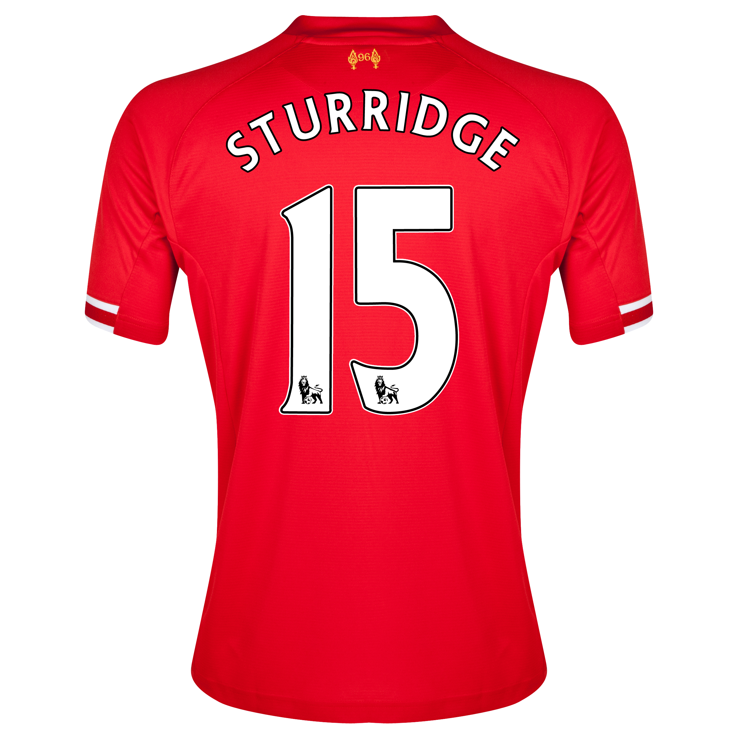 Liverpool Home Shirt 2013/14 with Sturridge 15 printing
