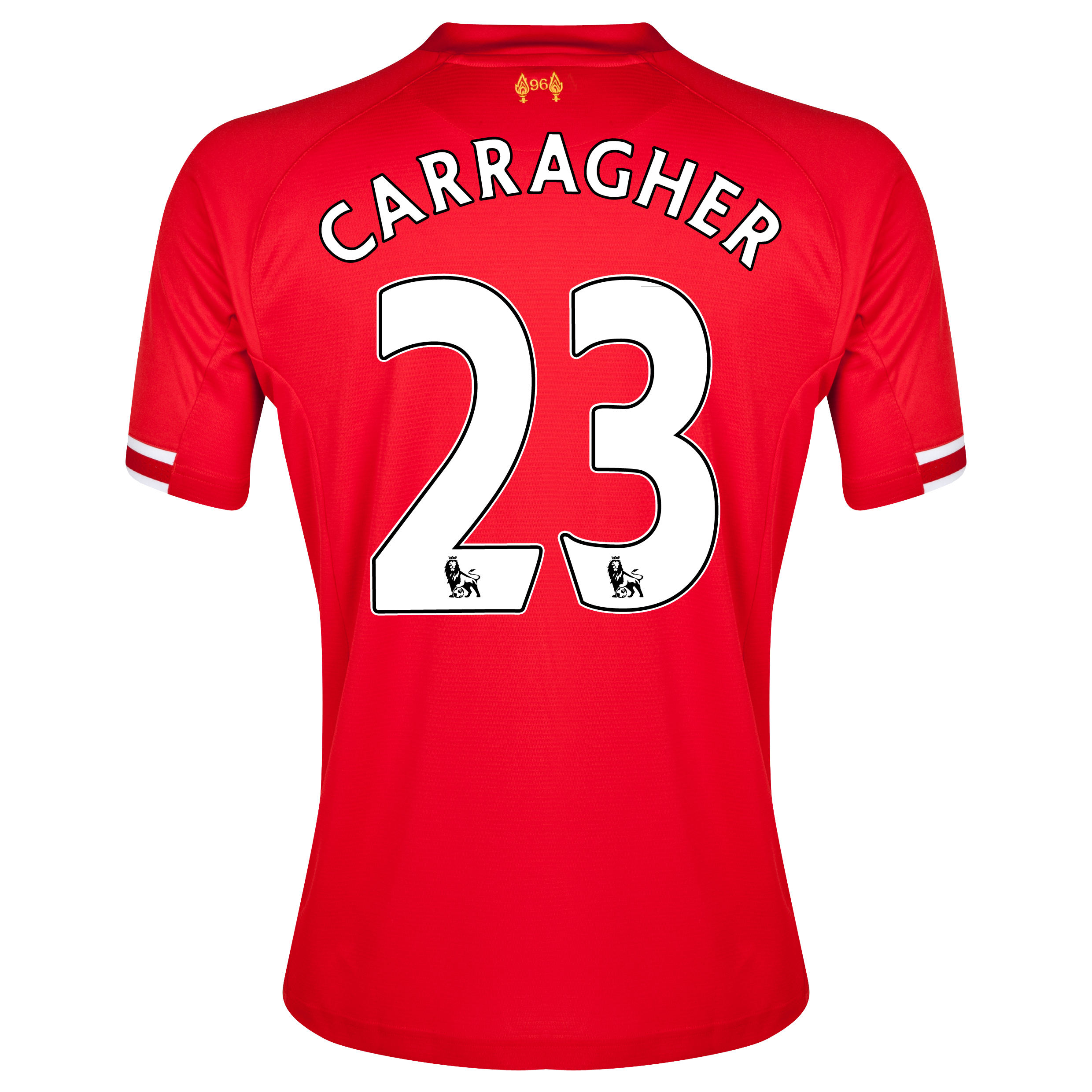 Liverpool Home Shirt 2013/14 with Carragher 23 printing