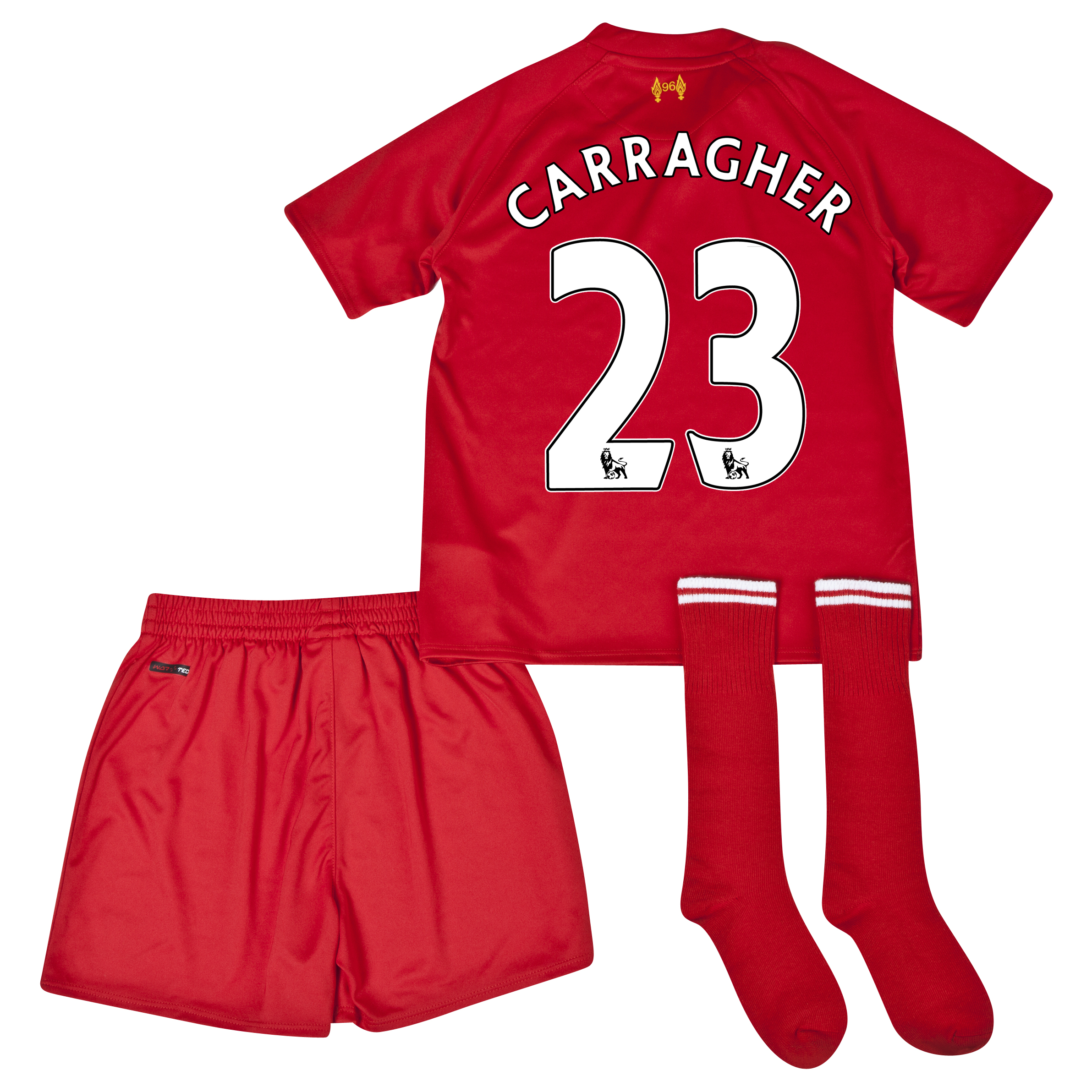 Liverpool Home Infant Kit 2013/14 with Carragher 23 printing