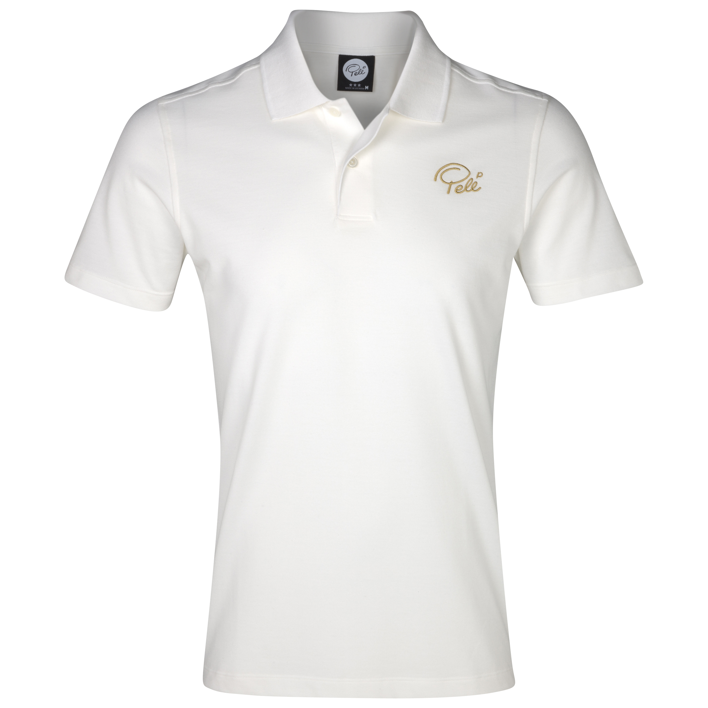 Pele Sports Core Polo - Snow White