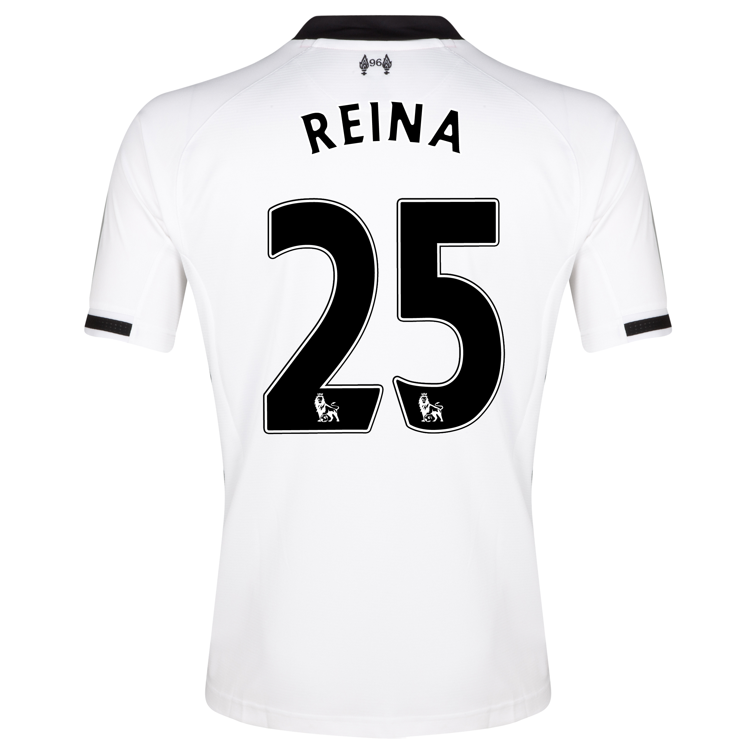 Liverpool Home Goalkeeper Shirt 2013/14 with Reina 25 printing