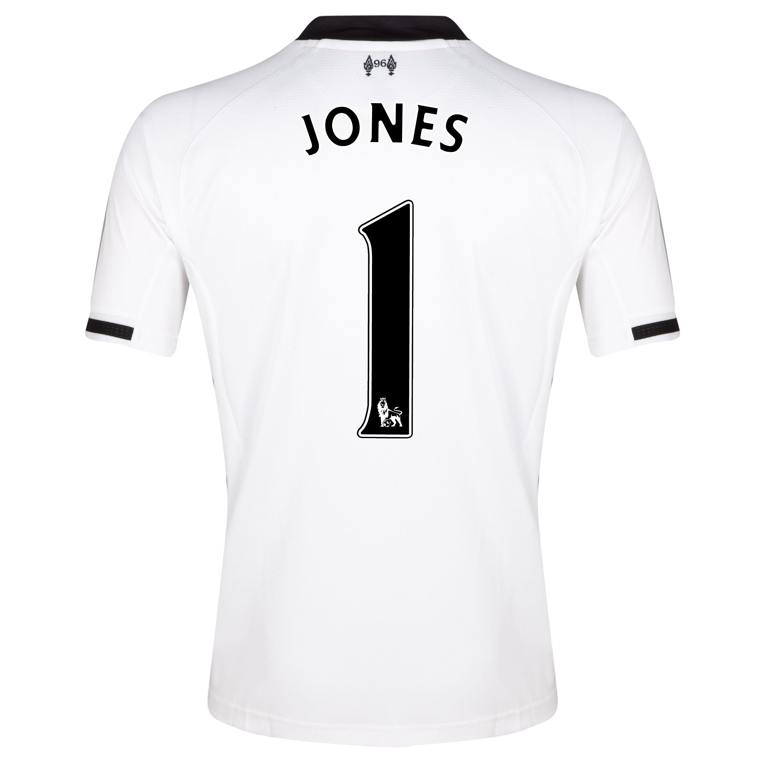 Liverpool Home Goalkeeper Shirt 2013/14- kids with Jones 1 printing